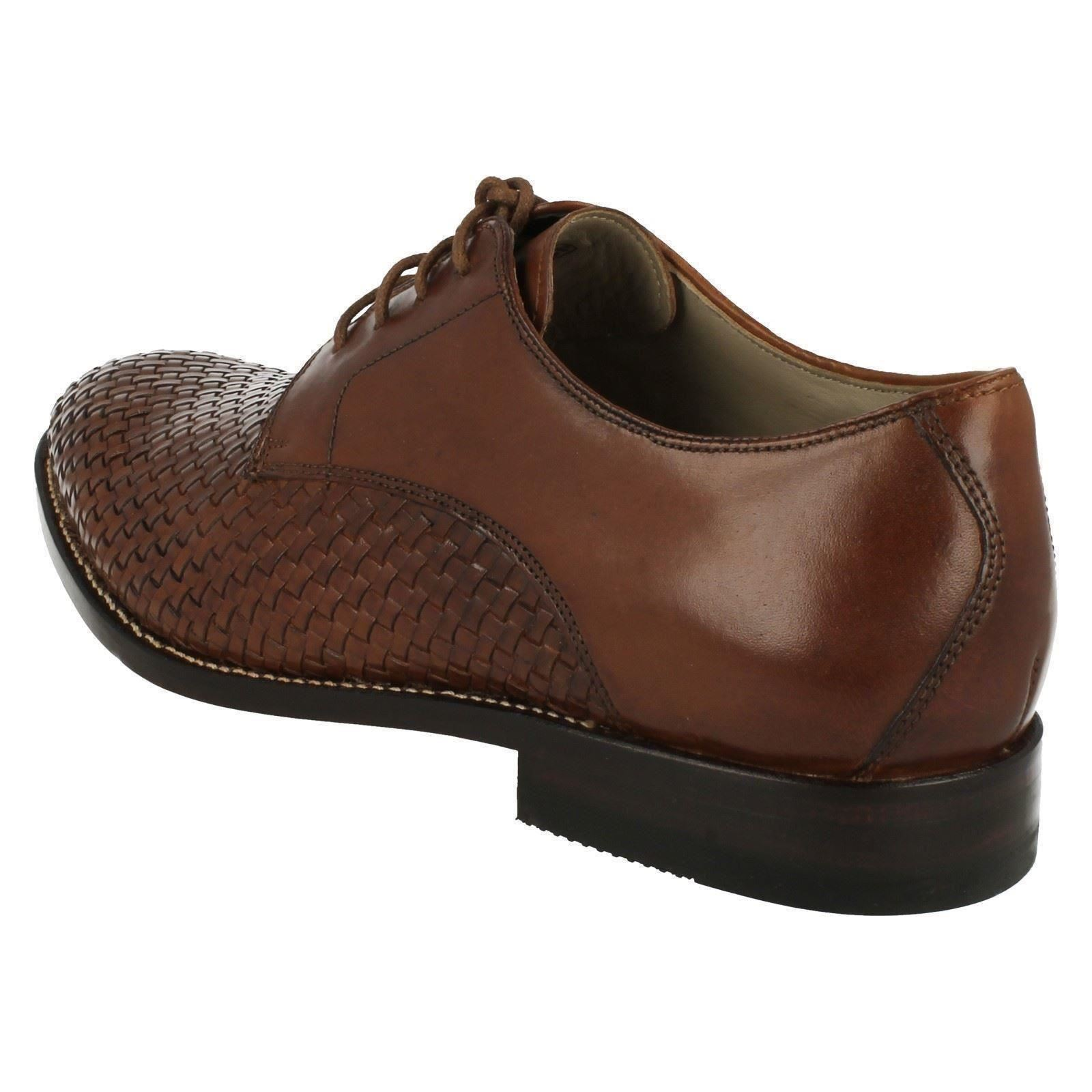 Uomo Clarks Smart Lace Up Schuhes Schuhes Schuhes Twinley Lace 9c6481