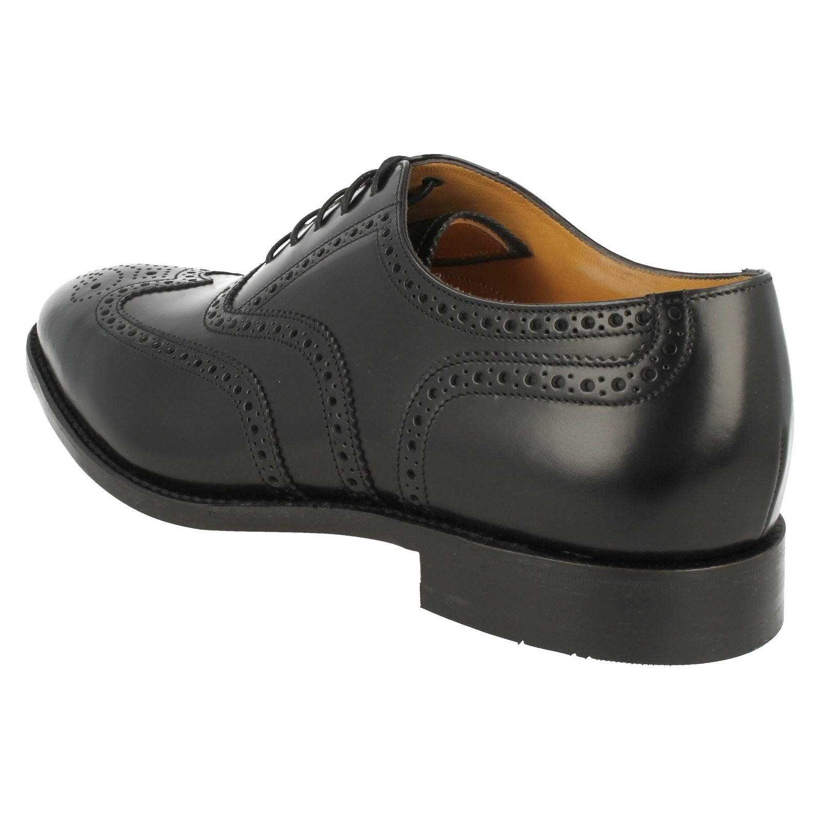 Mens Loake 758B2 Classic Leather Lace Up Brogue Shoes