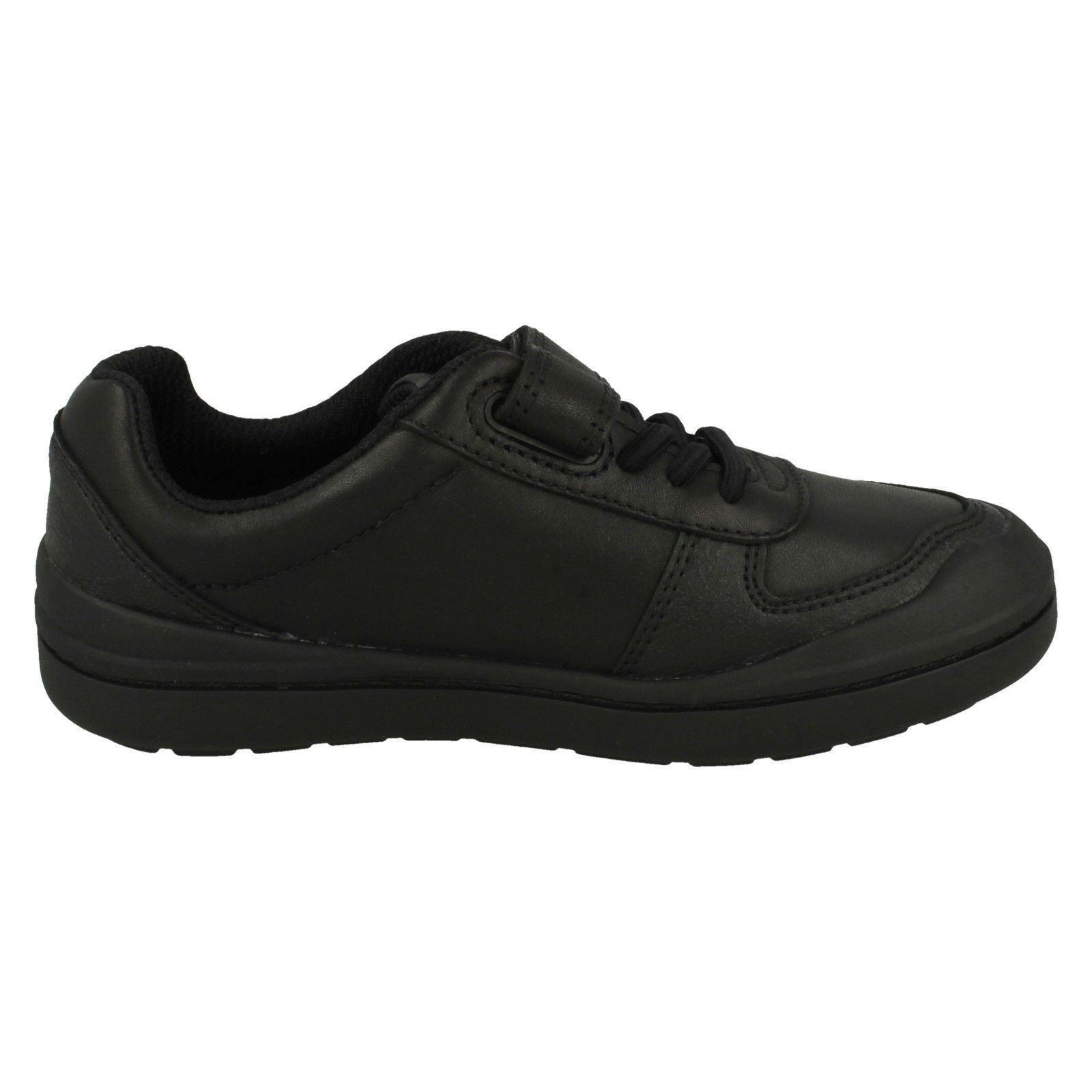 Smart Negro K Rock para Clarks School Verve Zapatos niños 8g65qWw
