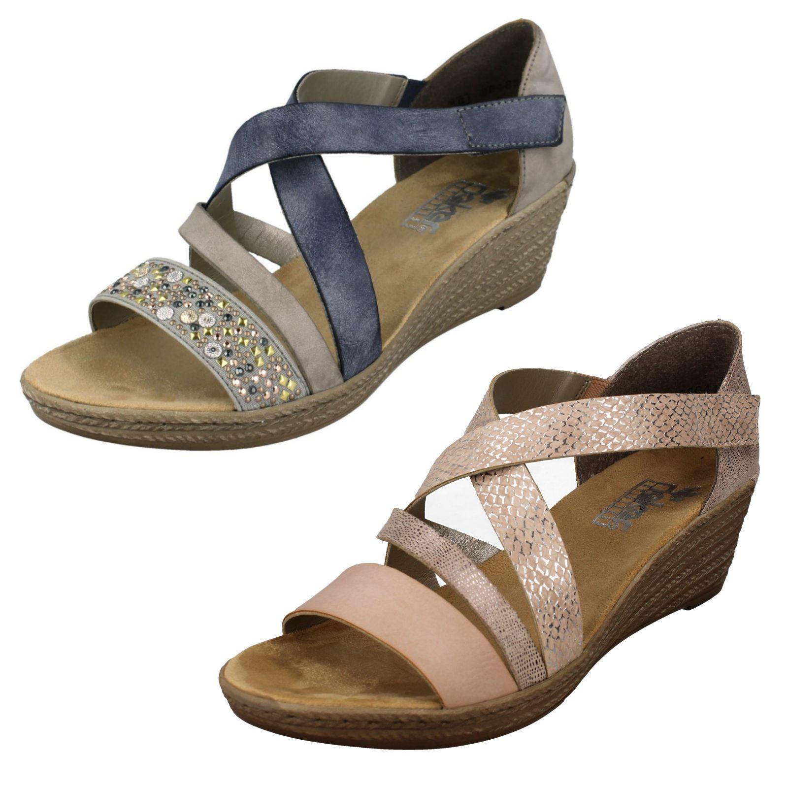 Shoes RIEKER L1780 35 Rot