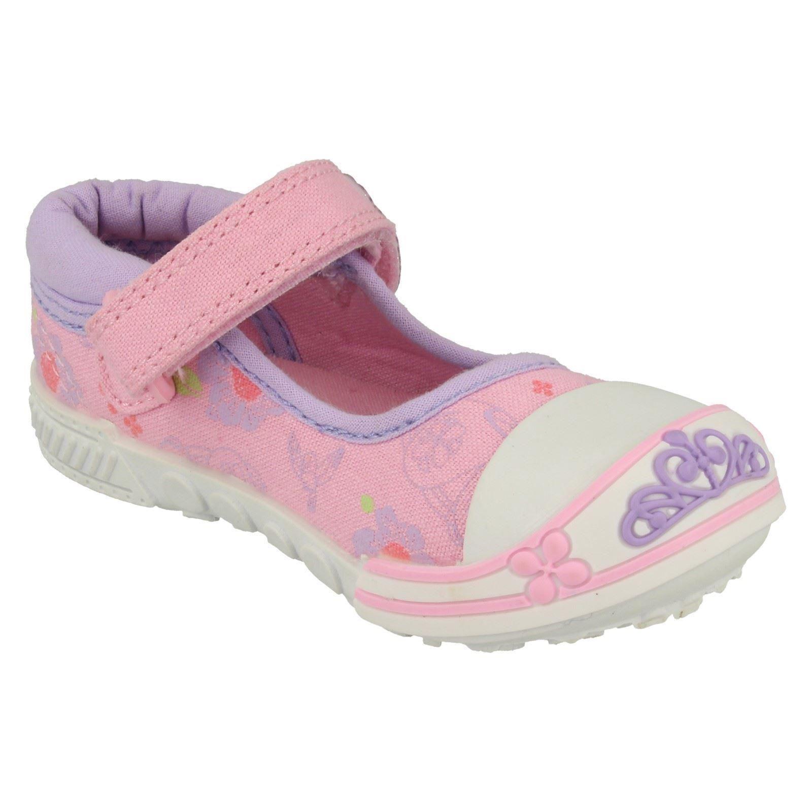 Girls Disney Bumper Canvas Shoe Sofia Dreams