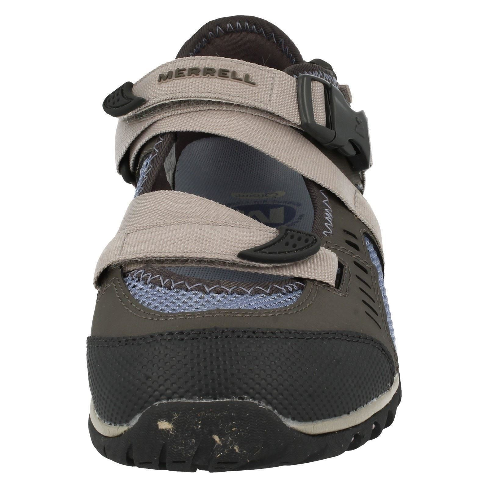 Ladies-Merrell-Buckle-Fastened-Casual-Shoes-Waterpro-Crystal-J82284 thumbnail 9