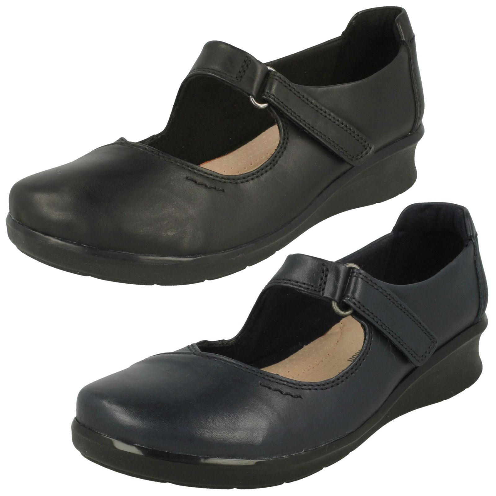 3df3faed6ab512 Clarks Ladies Mary Jane Style Shoes Hope Henley