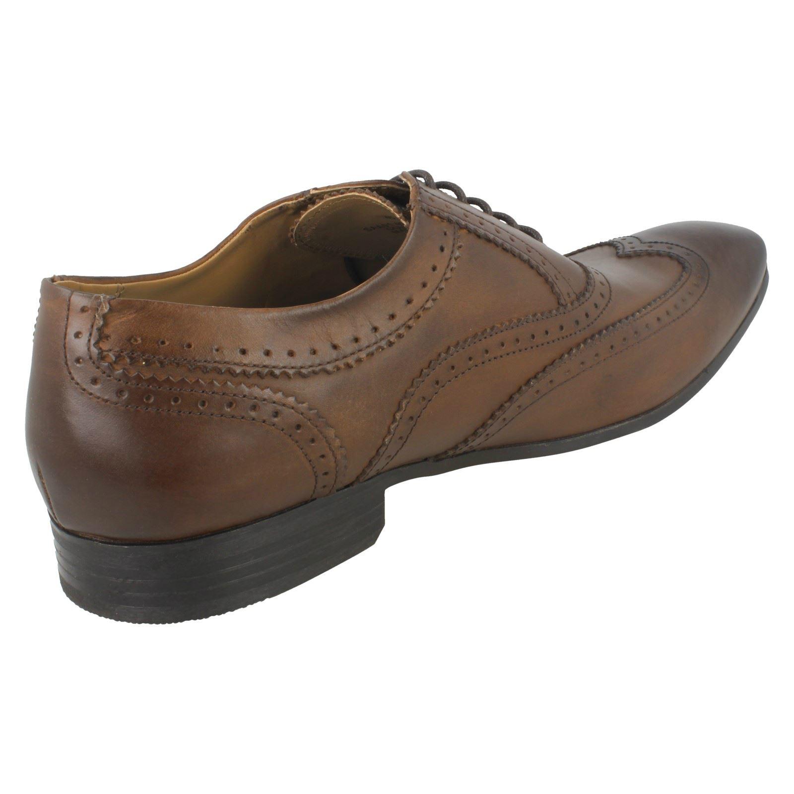 Herren Smart Base London Lace Up Smart Herren Schuhes Court 4ae1a8
