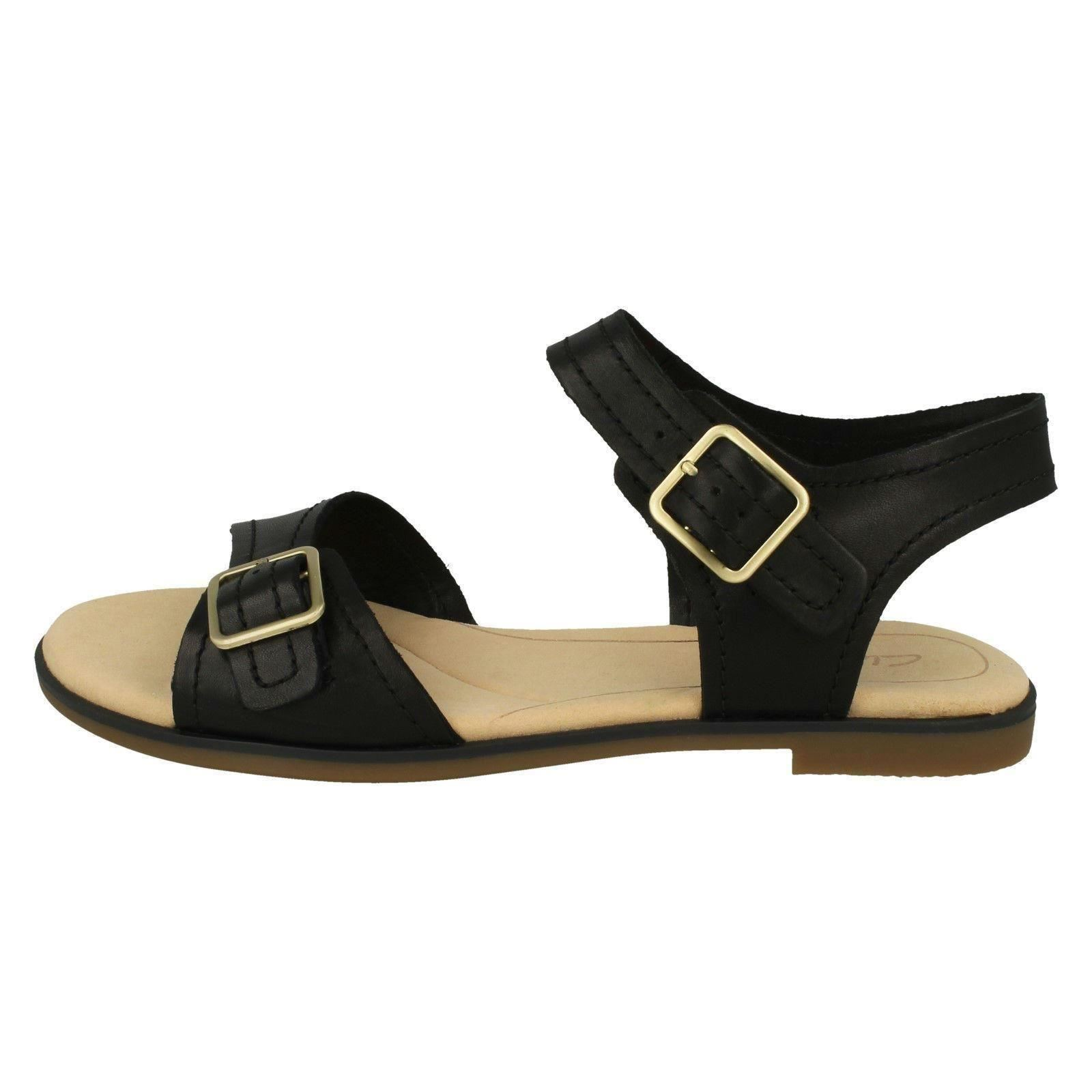 ad620b35875 Clarks Bay Primrose - Black Leather Womens Sandals 3 UK. About this  product. Picture 1 of 10  Picture 2 of 10  Picture 3 of 10 ...