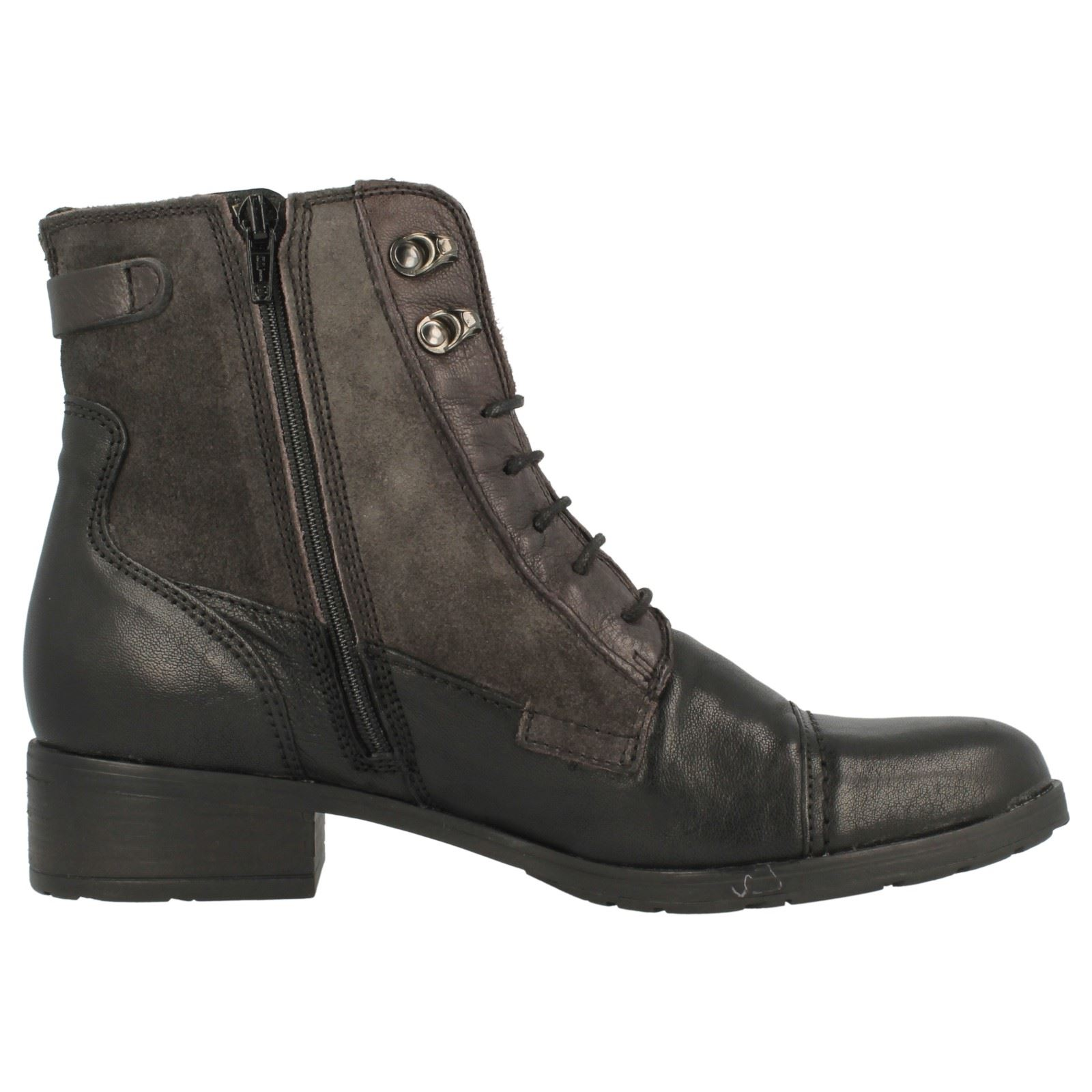 botas al tobillo tobillo al Damas Clarks 'Morgan Carla' 578105