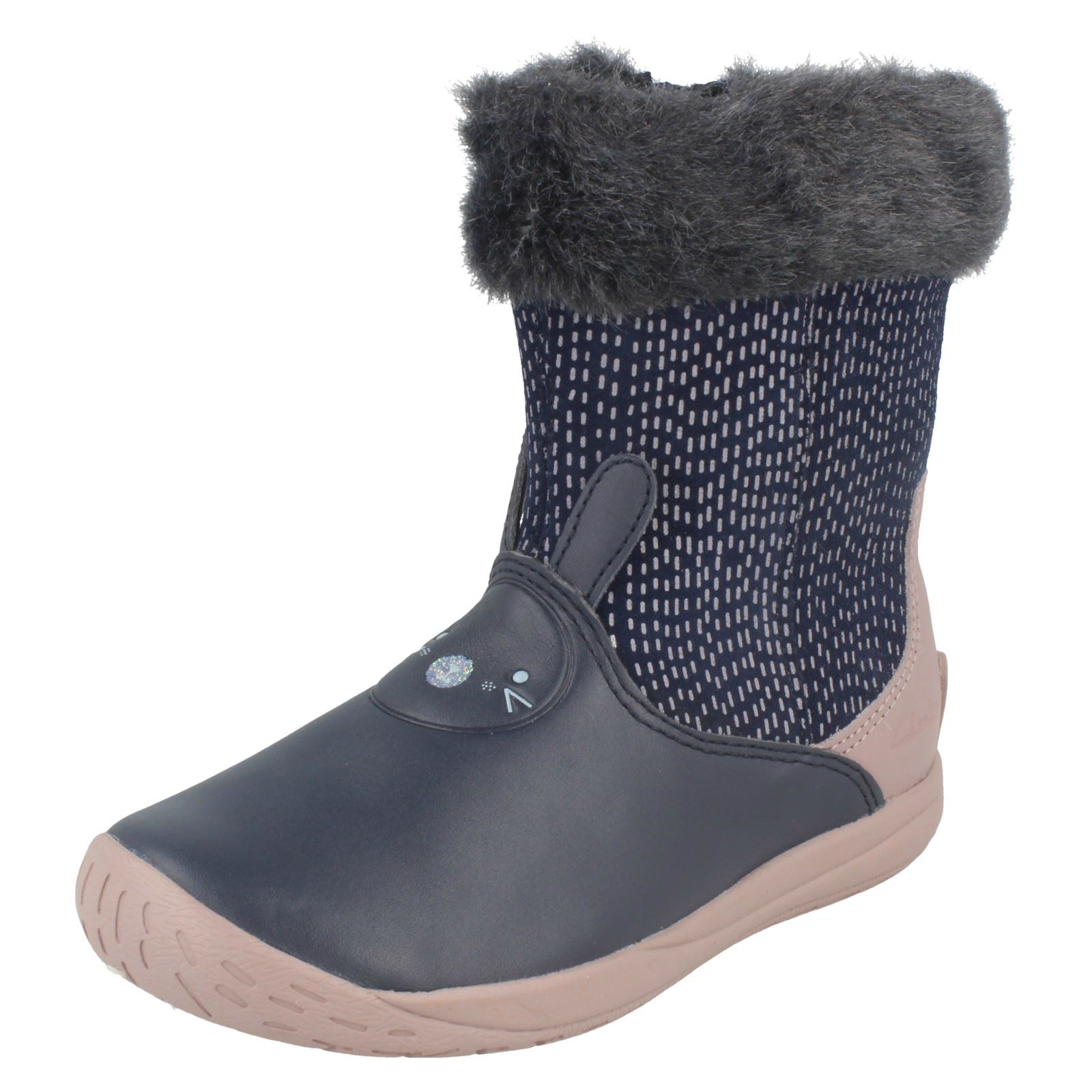 Girls Clarks Boots Puppet Time