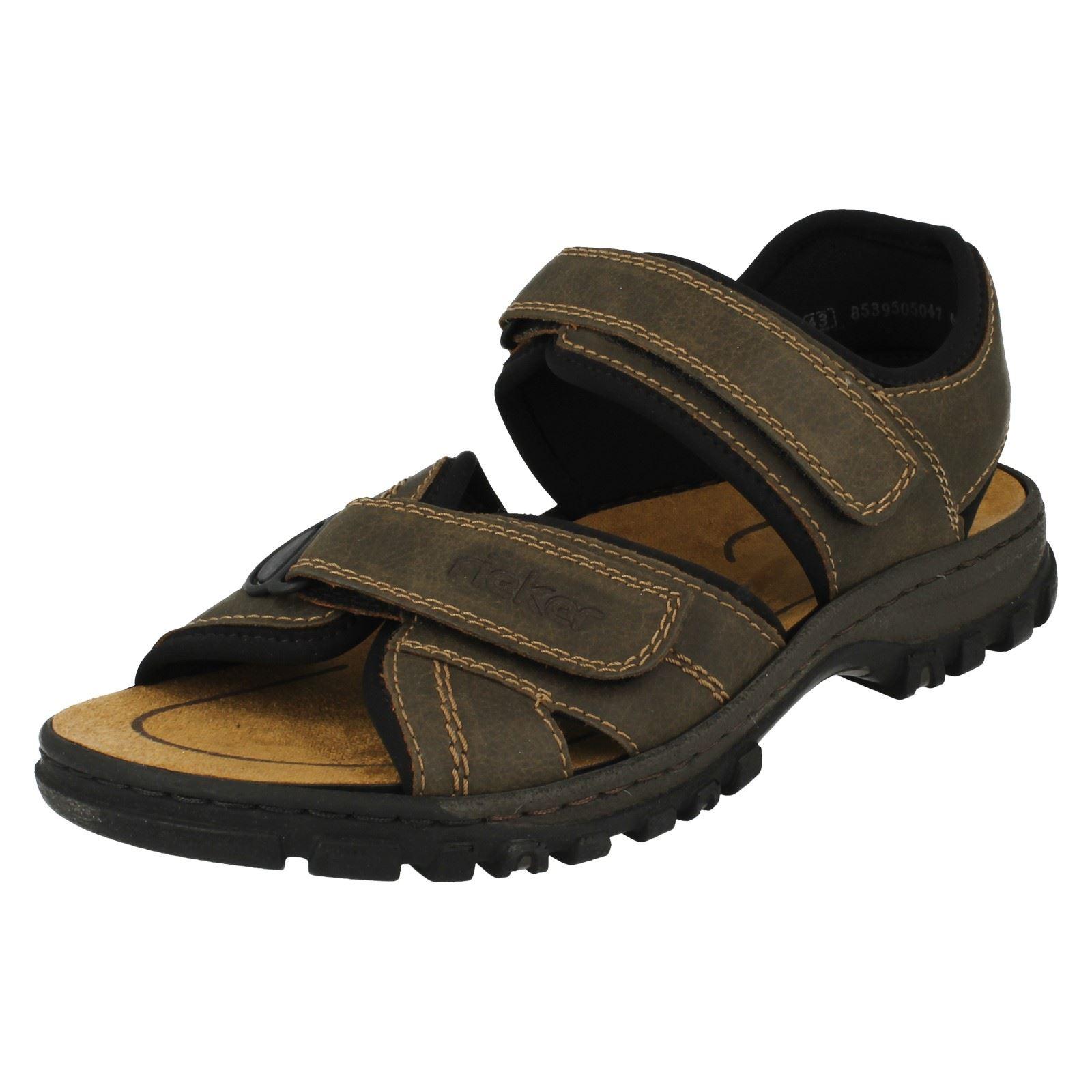Details about Rieker Mens Casual Sandals 25051