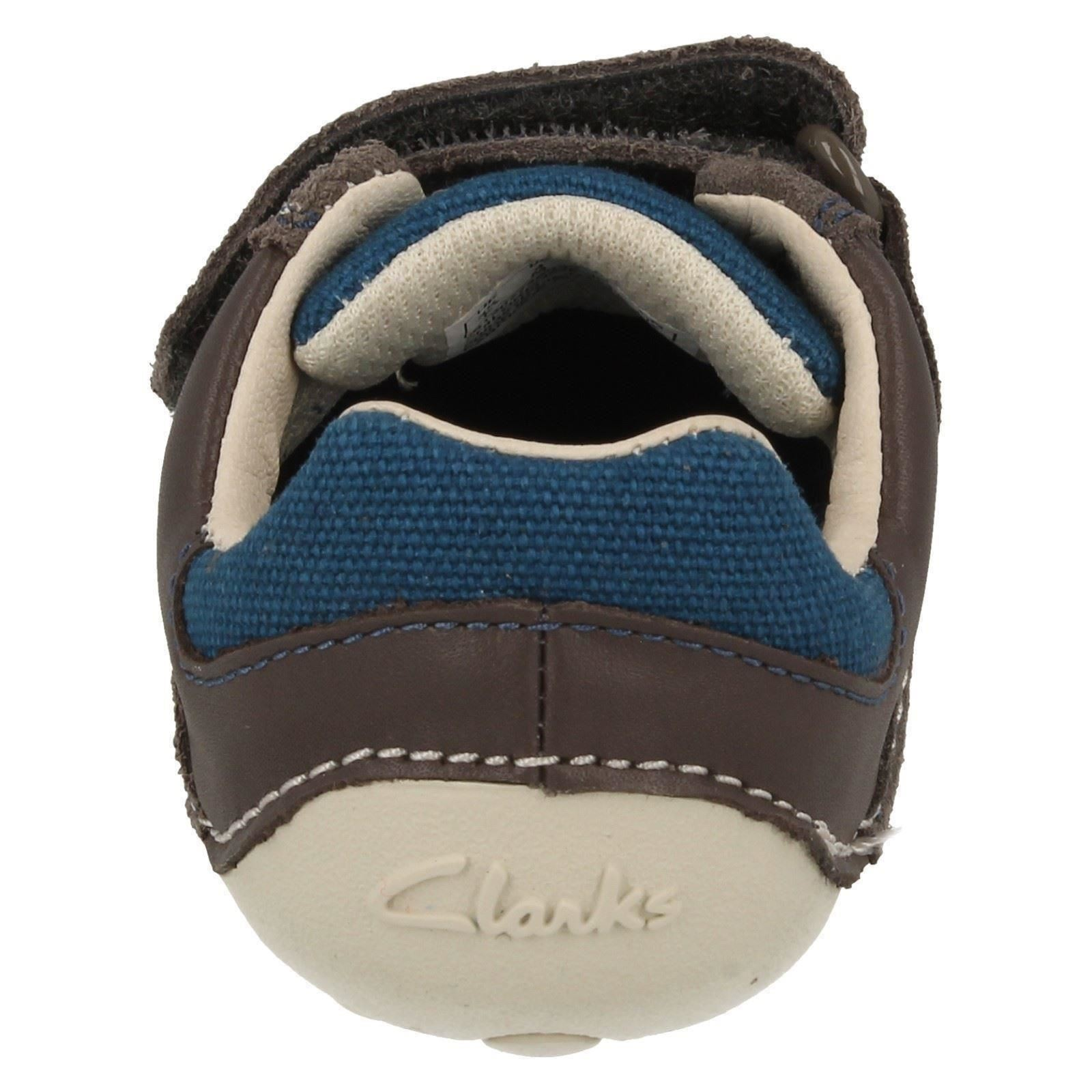 Clarks Grey Shoes Cruiser Tay First Tiny Chicos SvBqg