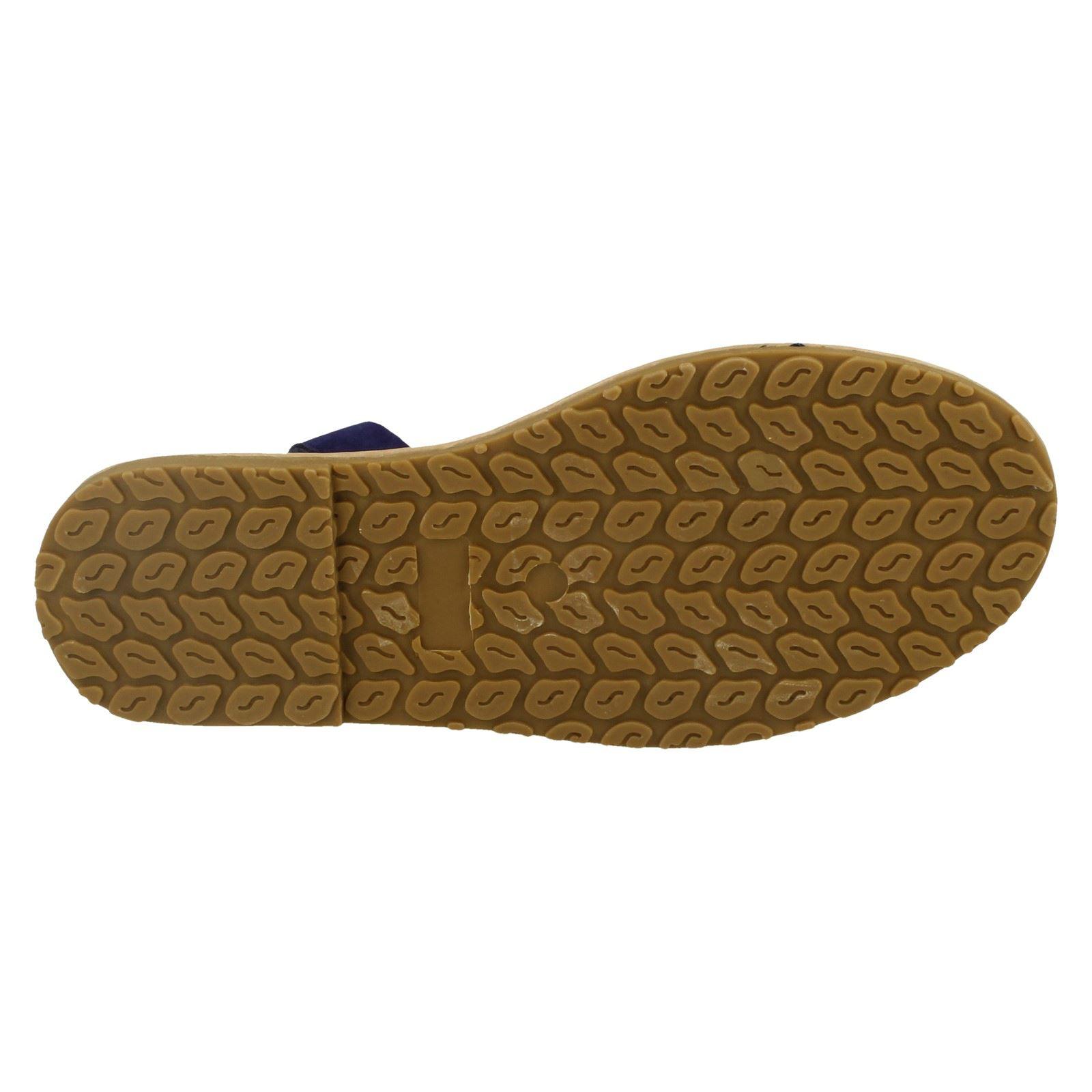 Damas Spot On Sintético Slip On Elástico Charol Sandalias planas de puntera abierta