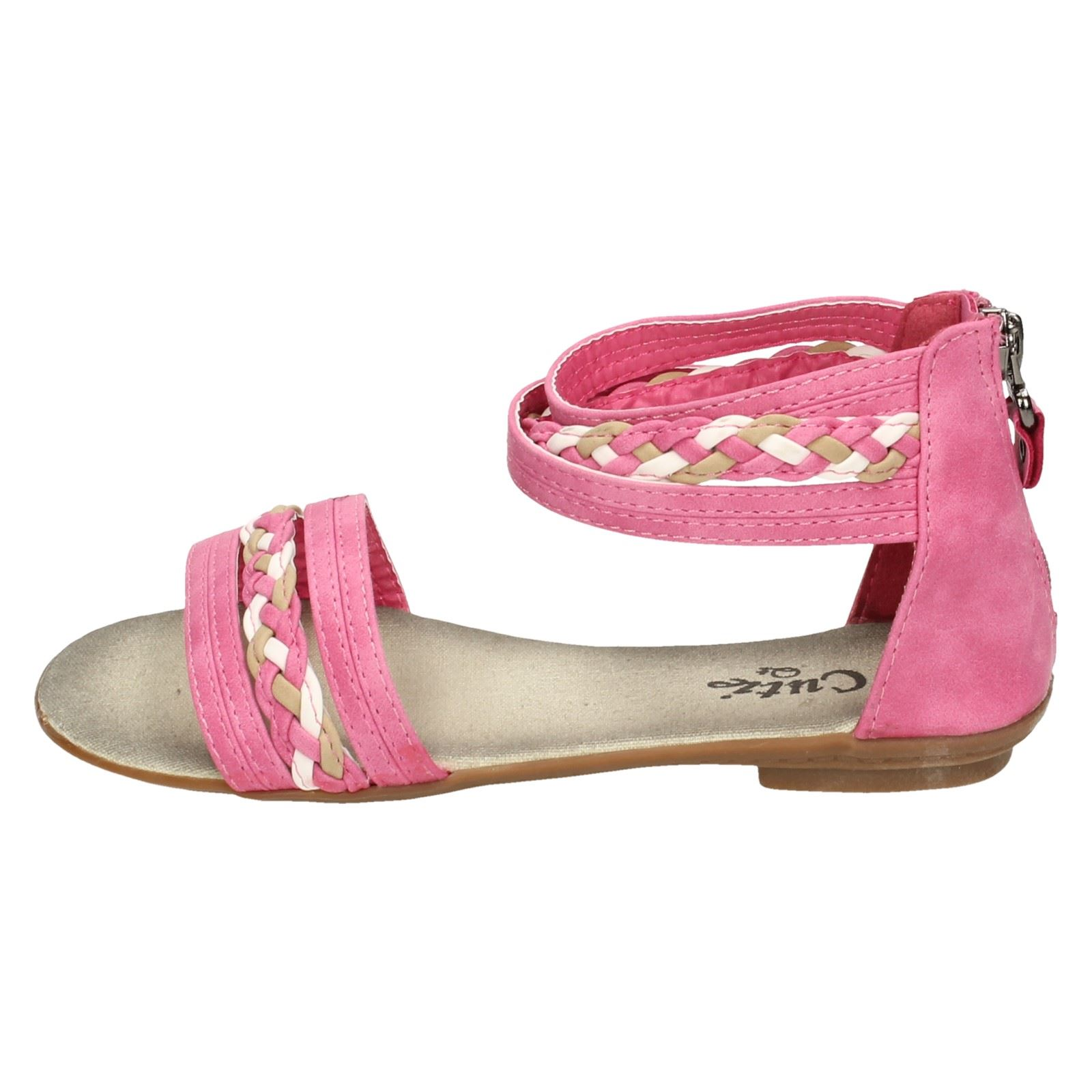 Cutie Girls Sandals with Ankle Cuff