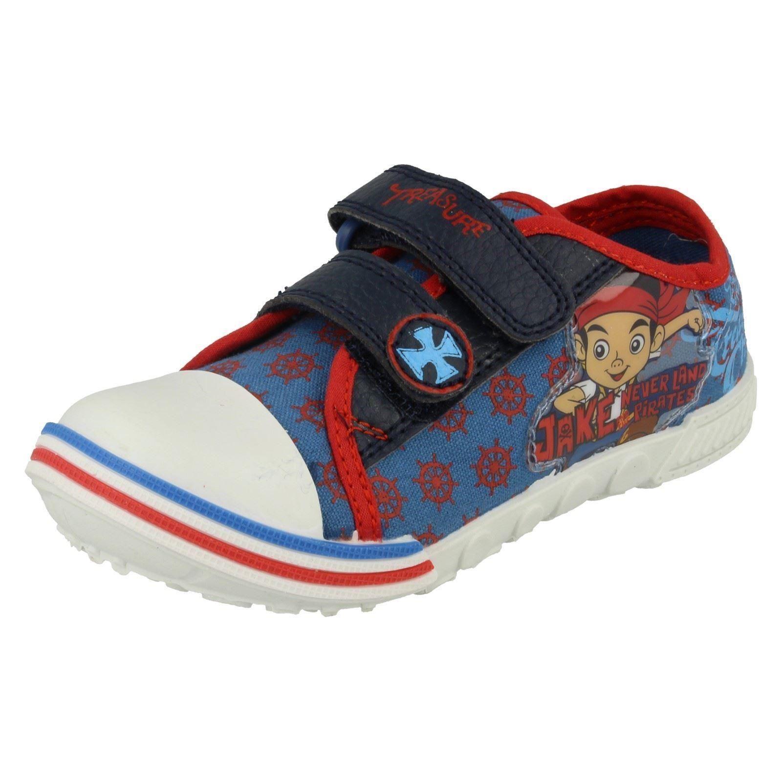 Chicos Disney Jake Y Los Nunca Land Pirates Tesoro Zapato De Lona