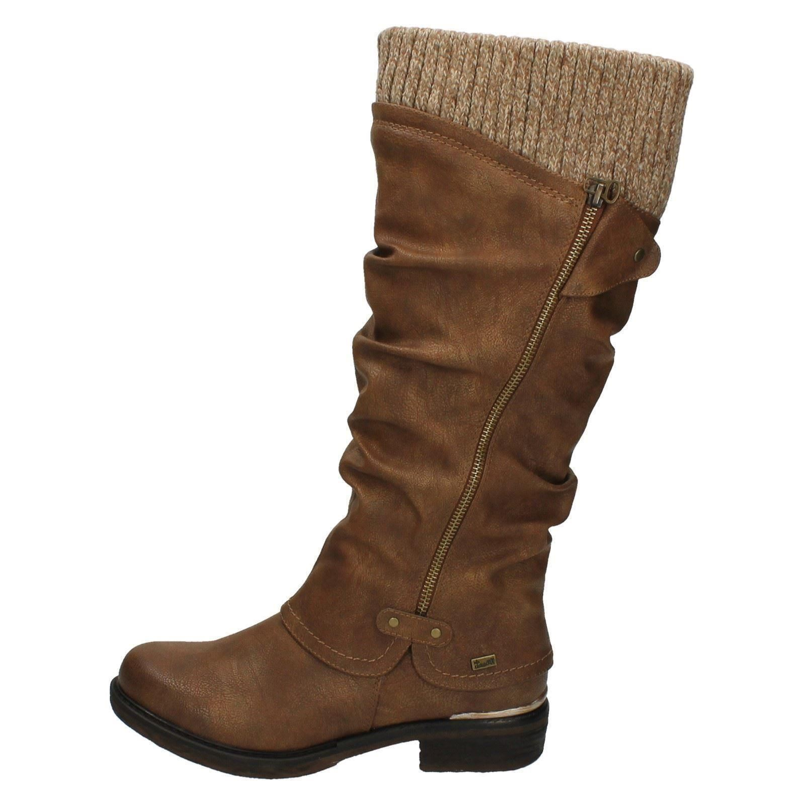 Ladies Rieker Long Boots 98956 Ebay