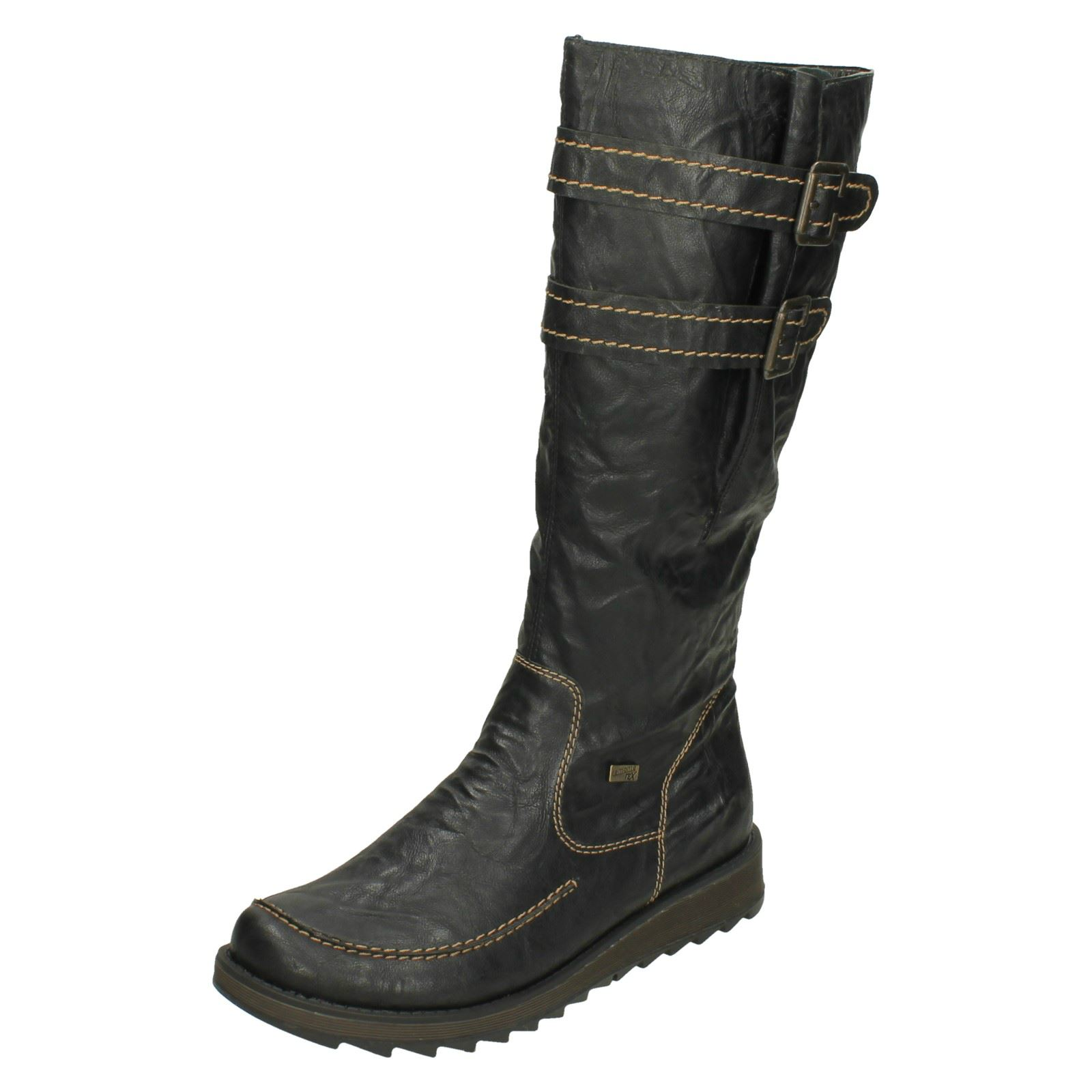 Ladies Remonte Stylish Stylish Stylish Knee High Boots D8884 8c8486