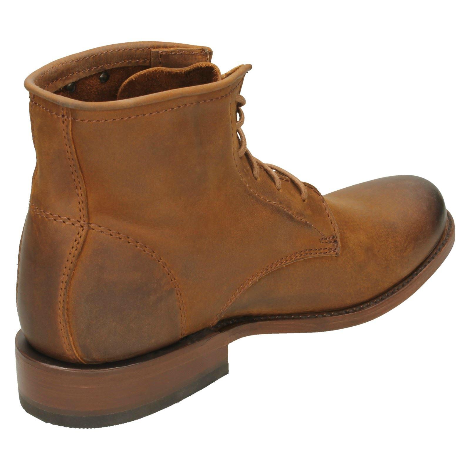 Uomo brown Tan Harley Davidson' stivali Ankle Tarrson 6w76HaB