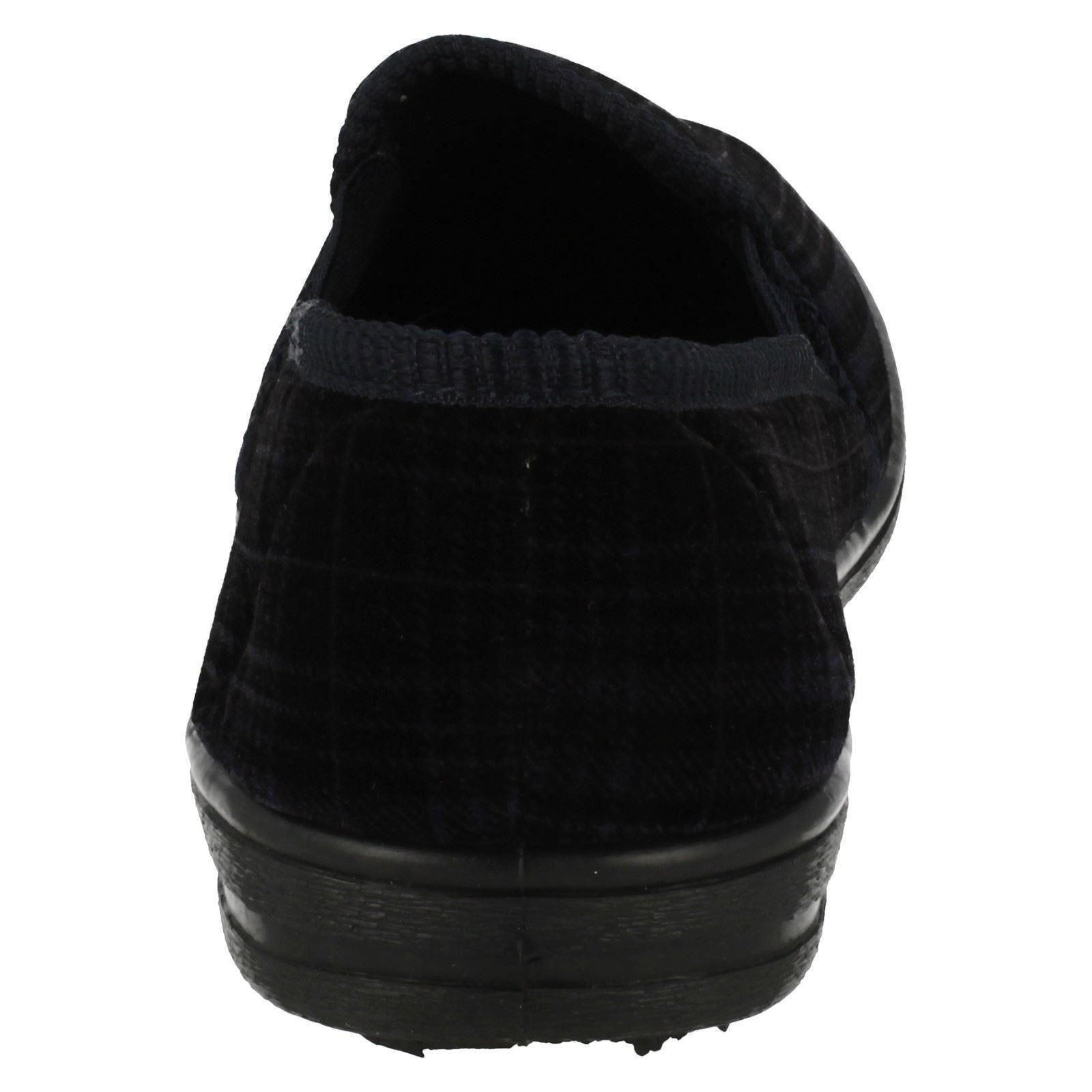 Para Hombre Cuatro Estaciones Estampado a Cuadros Zapatillas Greg