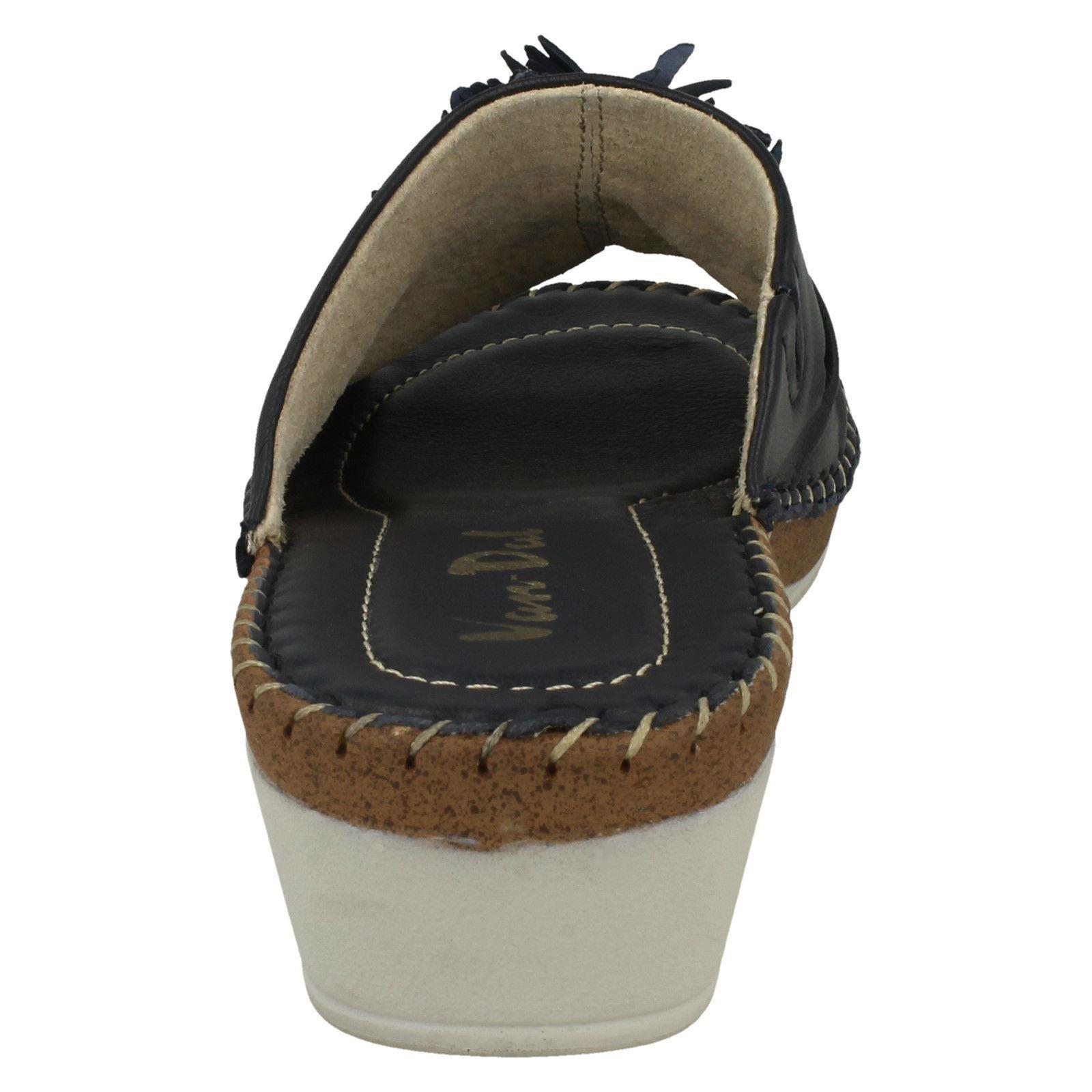 Ladies-Van-Dal-Wedge-Heel-Mule-Sandals-039-Banks-039 thumbnail 15