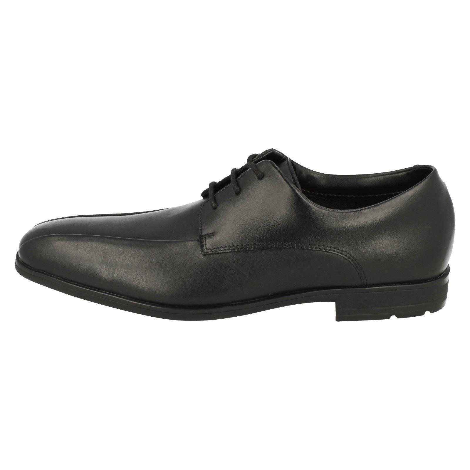 Clarks Willis escolares niños para Zapatillas Black Lad agTwF1