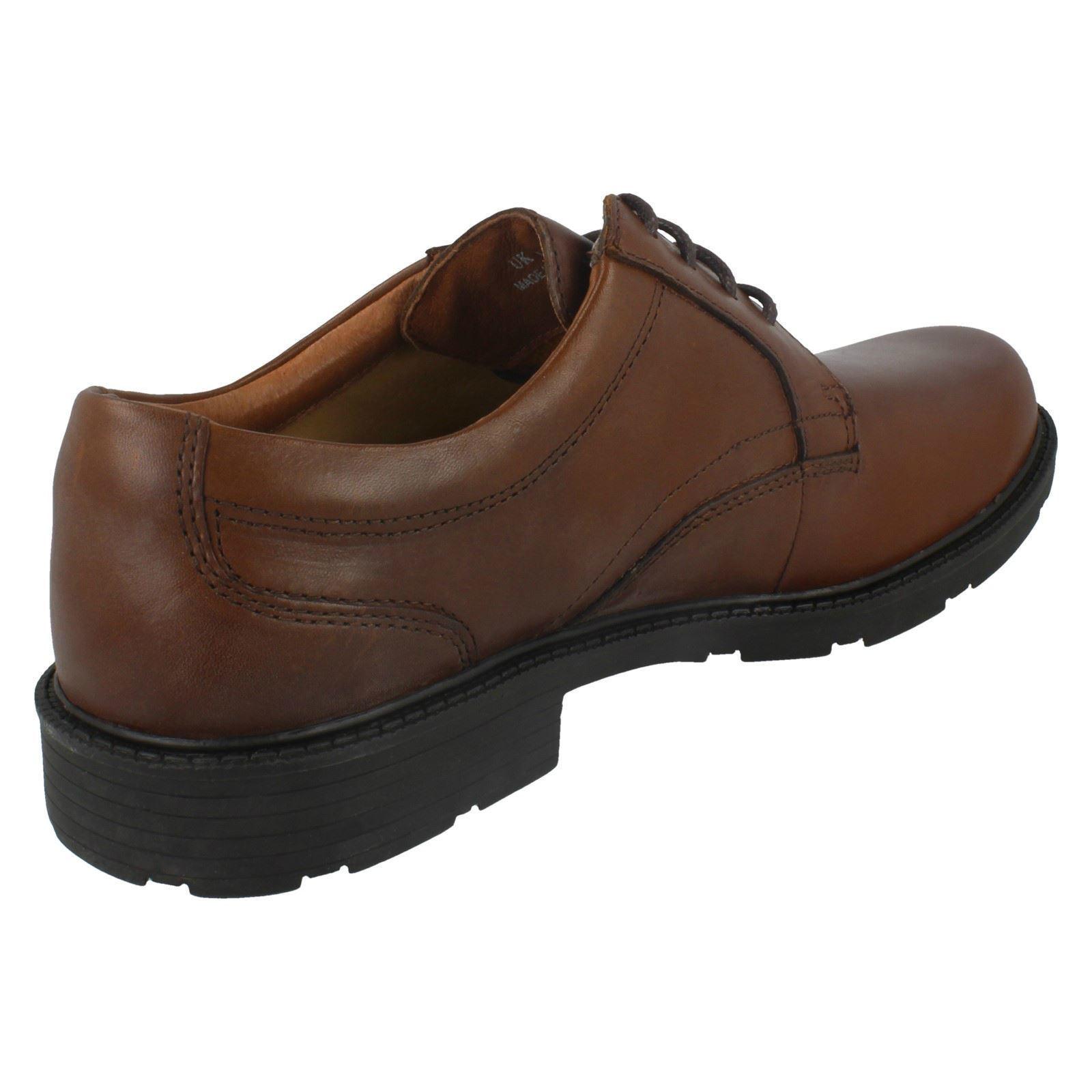 039-Mens-Clarks-039-Formal-Lace-Up-Shoes-Lair-Plain