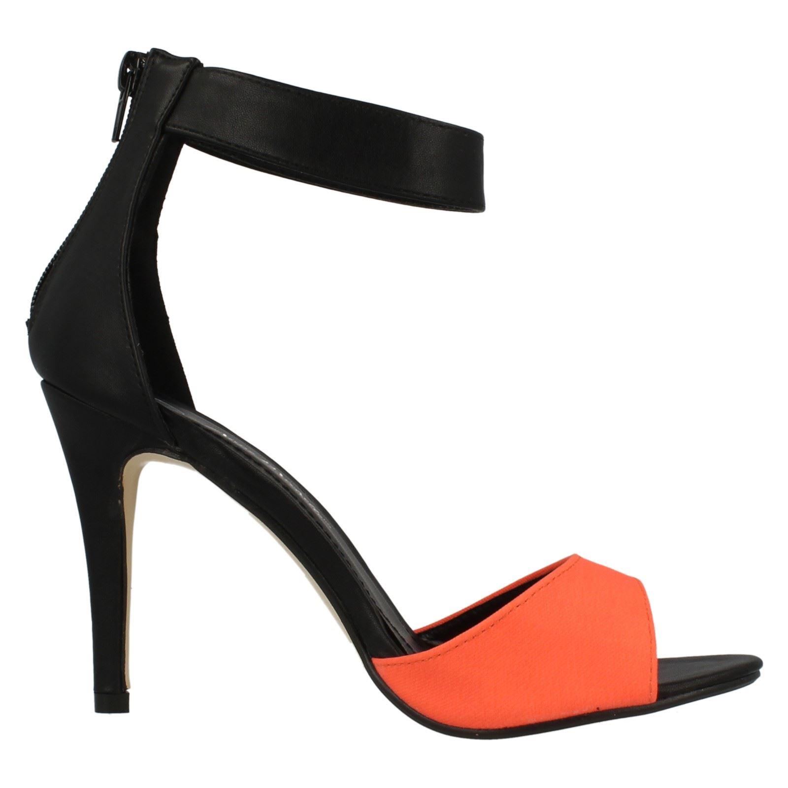 Señoras Anne Michelle alto talón sandalias Fashion