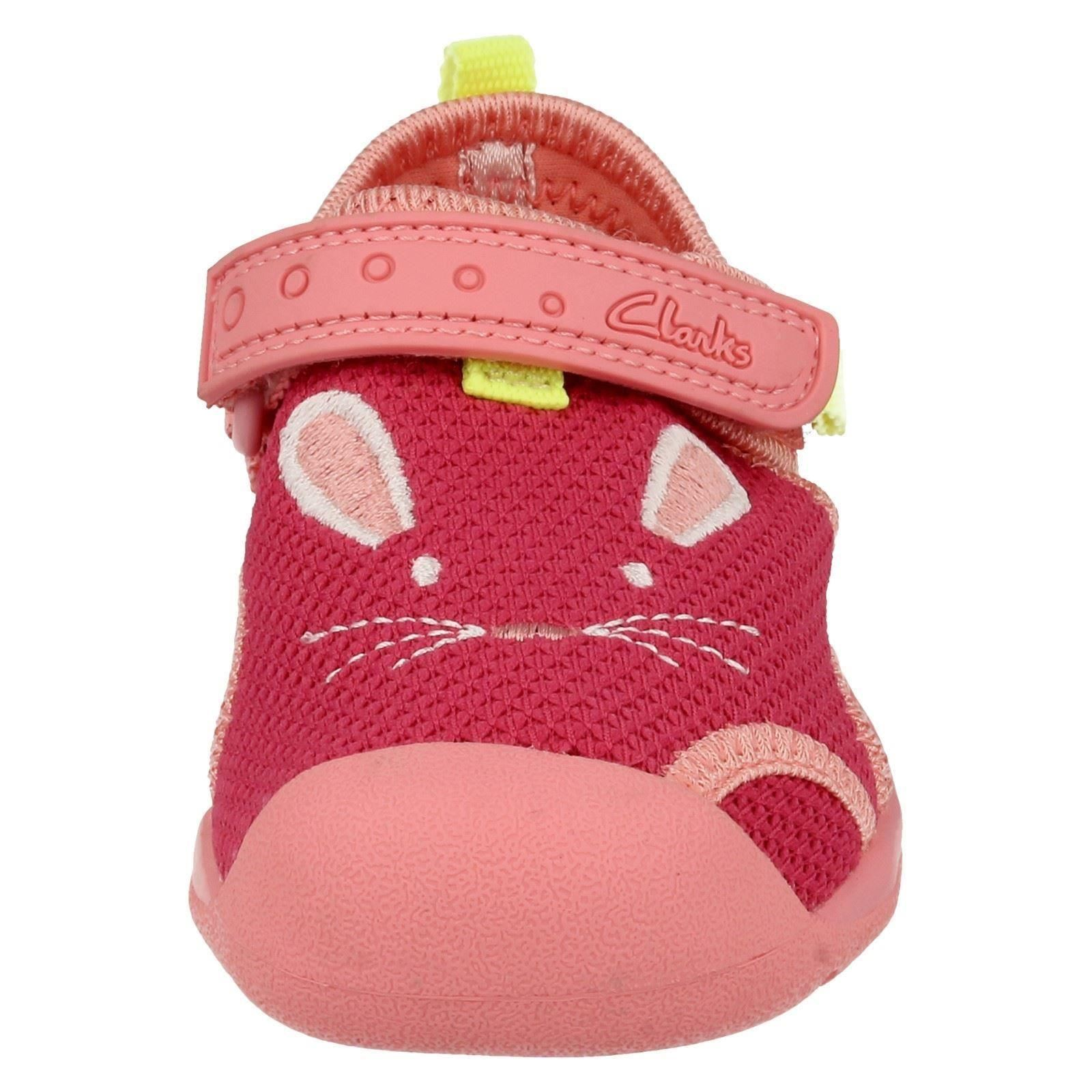 Infantil Chicas Clarks Zapatos De Playa Playa Molly