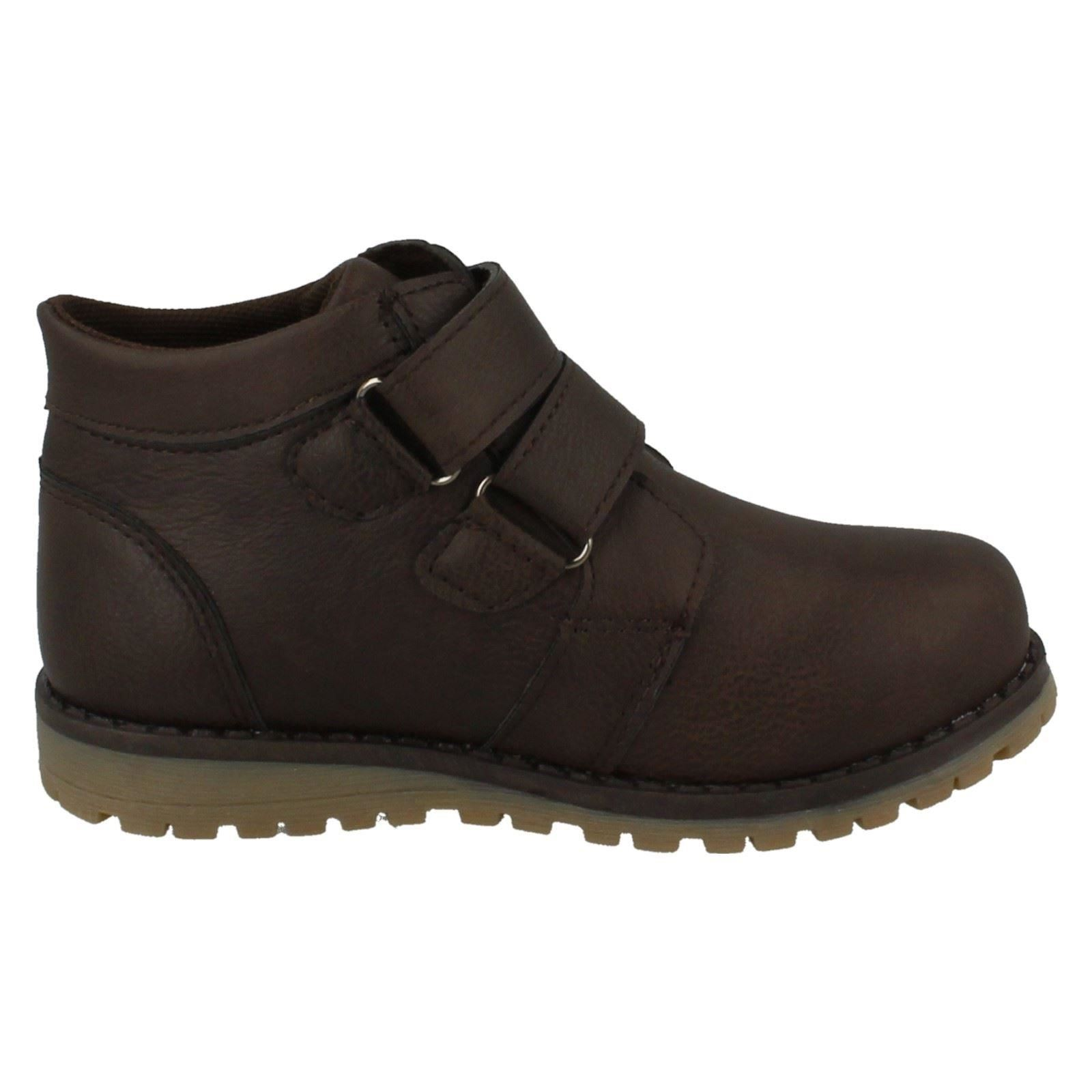 Boys JCDees Double Strap Ankle Boots
