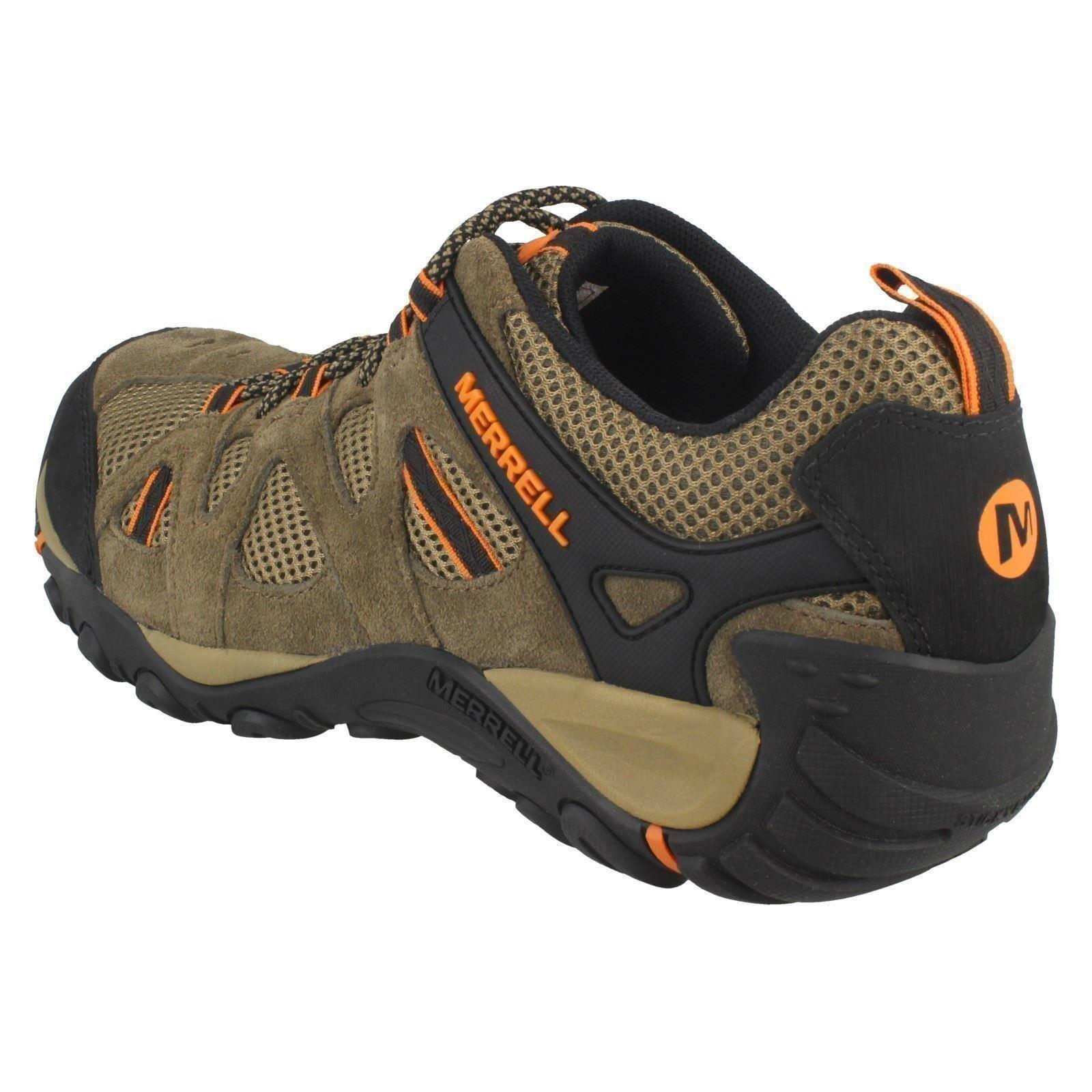 Lace Arancione b J343718c passeggio Merrell da pelle scarpe Yokota Ascender Mens Casual in Up Cantine Vent marrone ZnBx1q1RwE