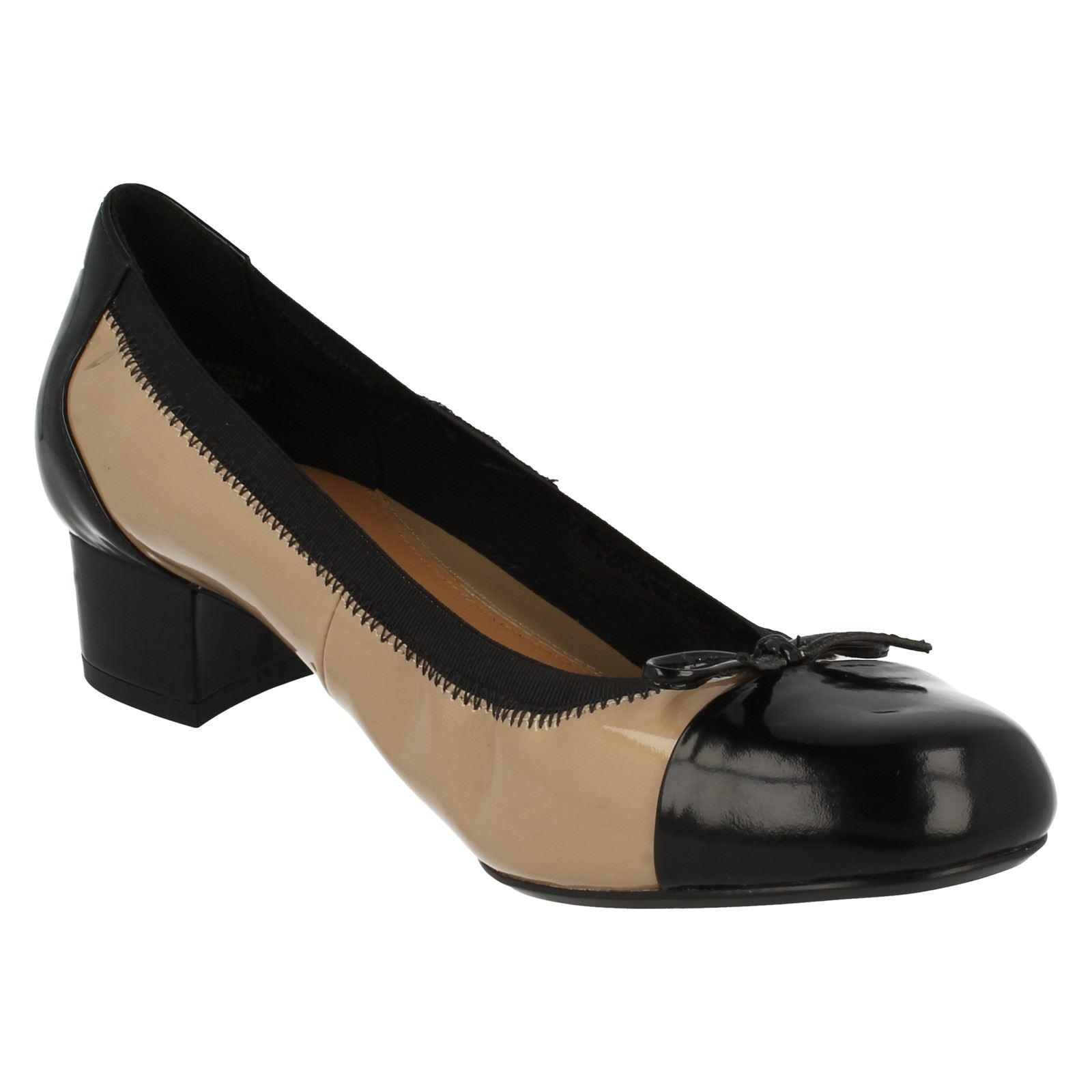 0501995647226 Ladies Clarks Low Heeled Fashion Shoes 'Balcony Poem' | eBay