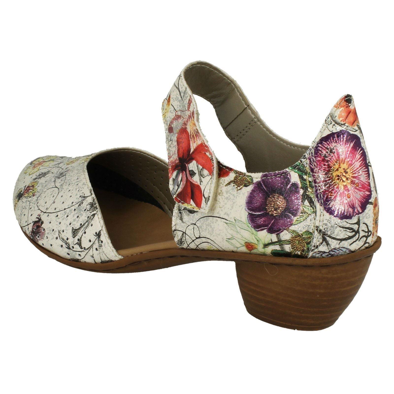 Womens 43789 Rieker Casual Heeled Shoes 43789 Womens 64a182