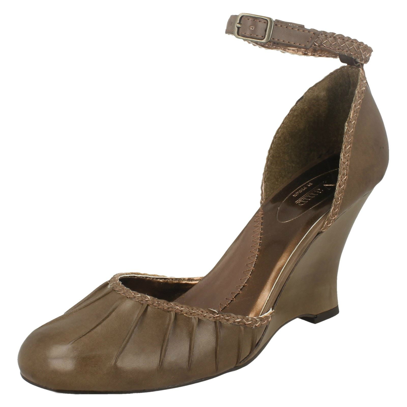 Sandalias Con Taco señoras Vamp -