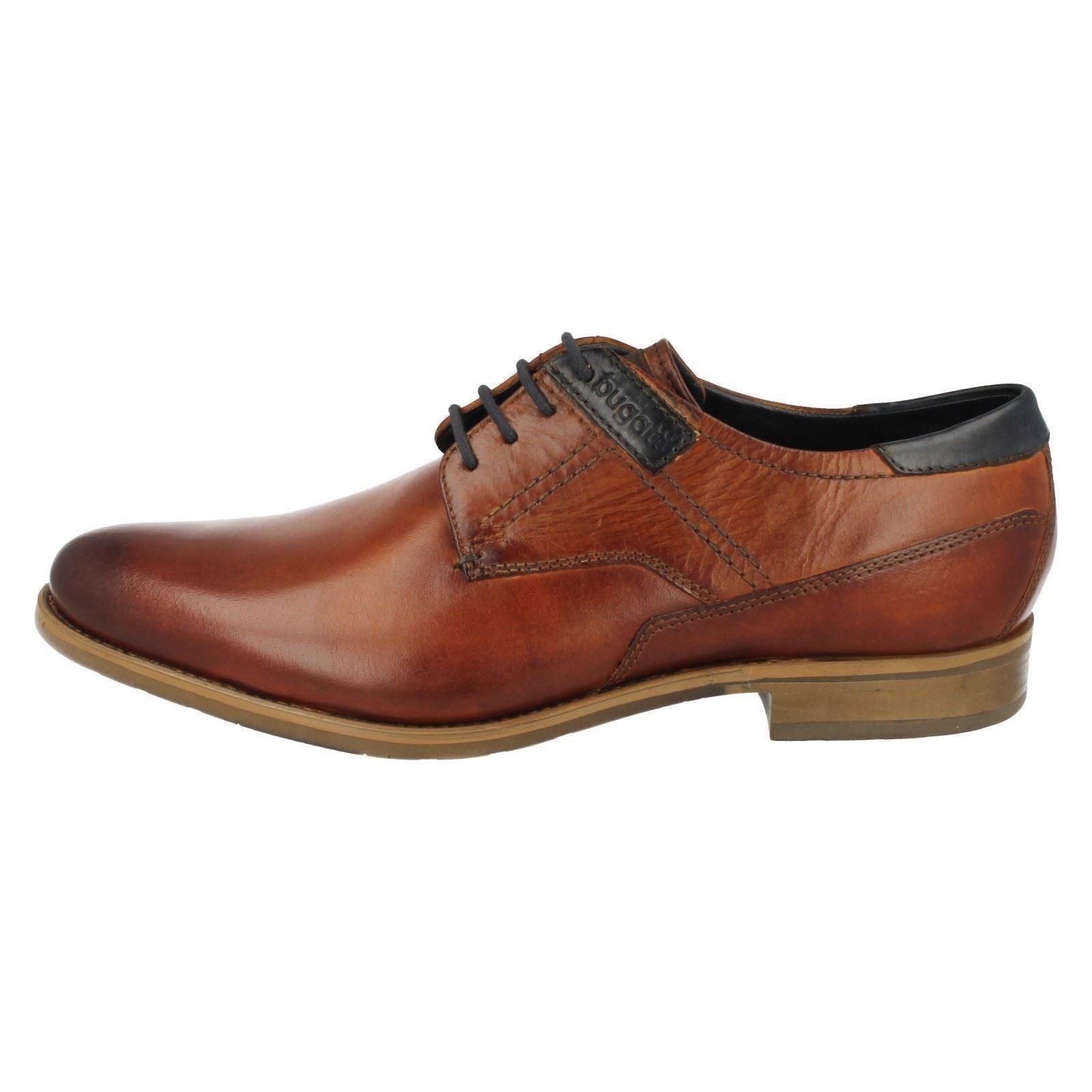 Mens Bugatti Smart Lace Up Shoes 312-16302