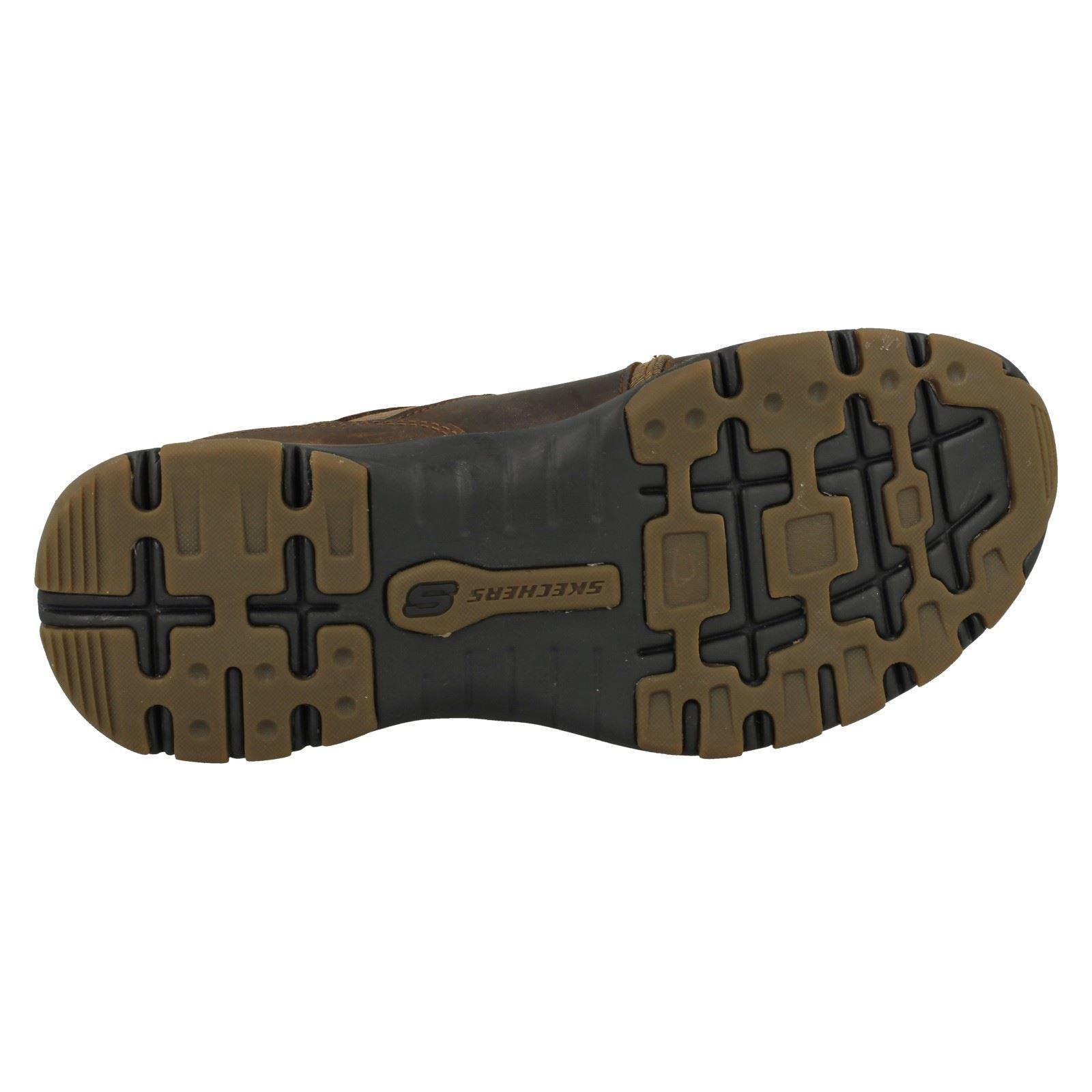 Herren Stiefel Skechers Casual Lace Up Stiefel Herren Lutador 308e1b
