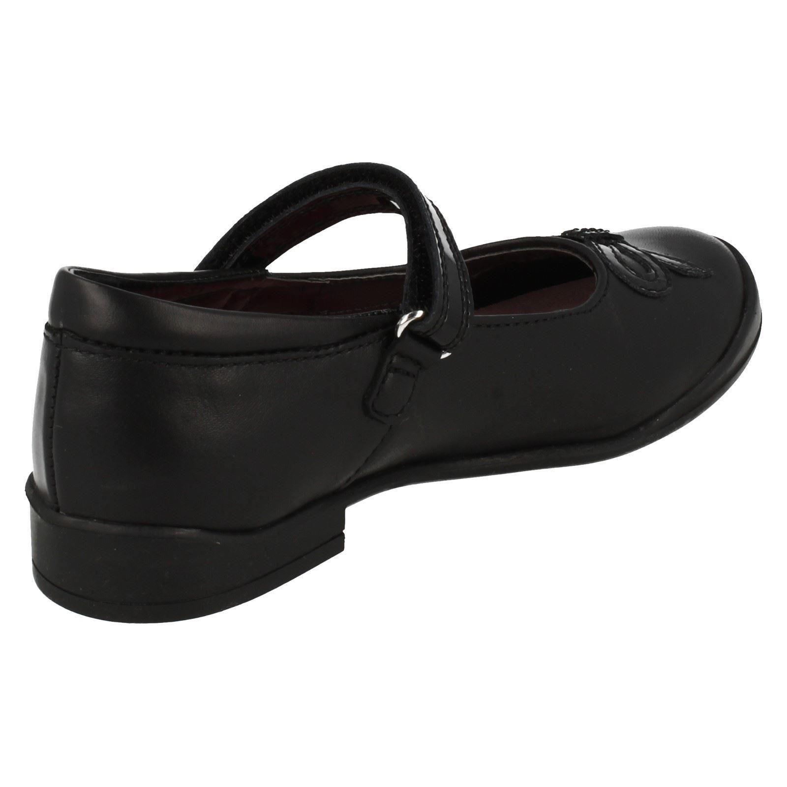 Junior Girls Startrite Formal/Zapatos Escolares Rubí