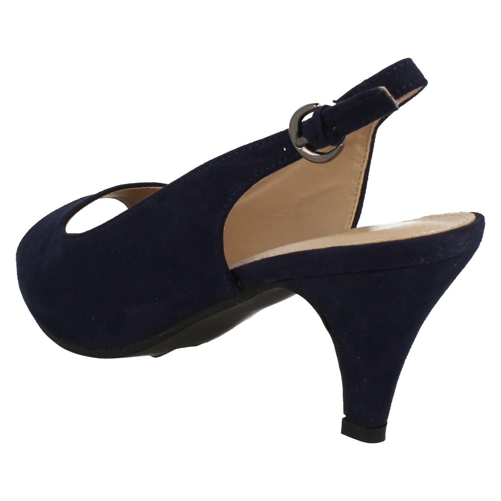 Anne-Michelle-Ladies-Peep-Toe-Sling-back-Heels