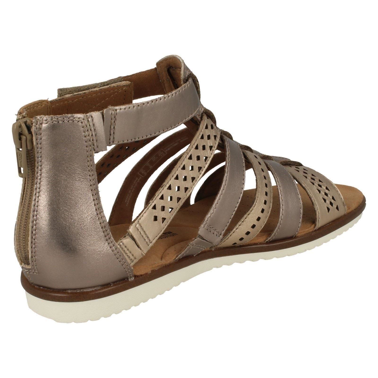 eef7100980da Ladies-Clarks-Gladiator-Sandals-Kele-Lotus thumbnail 6