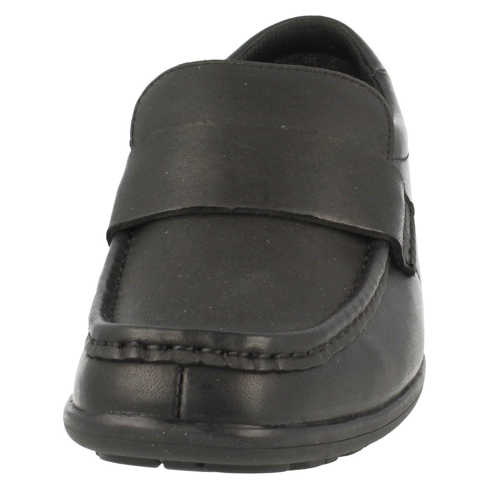 Clarks Boys Slip On School Shoes Corris Step