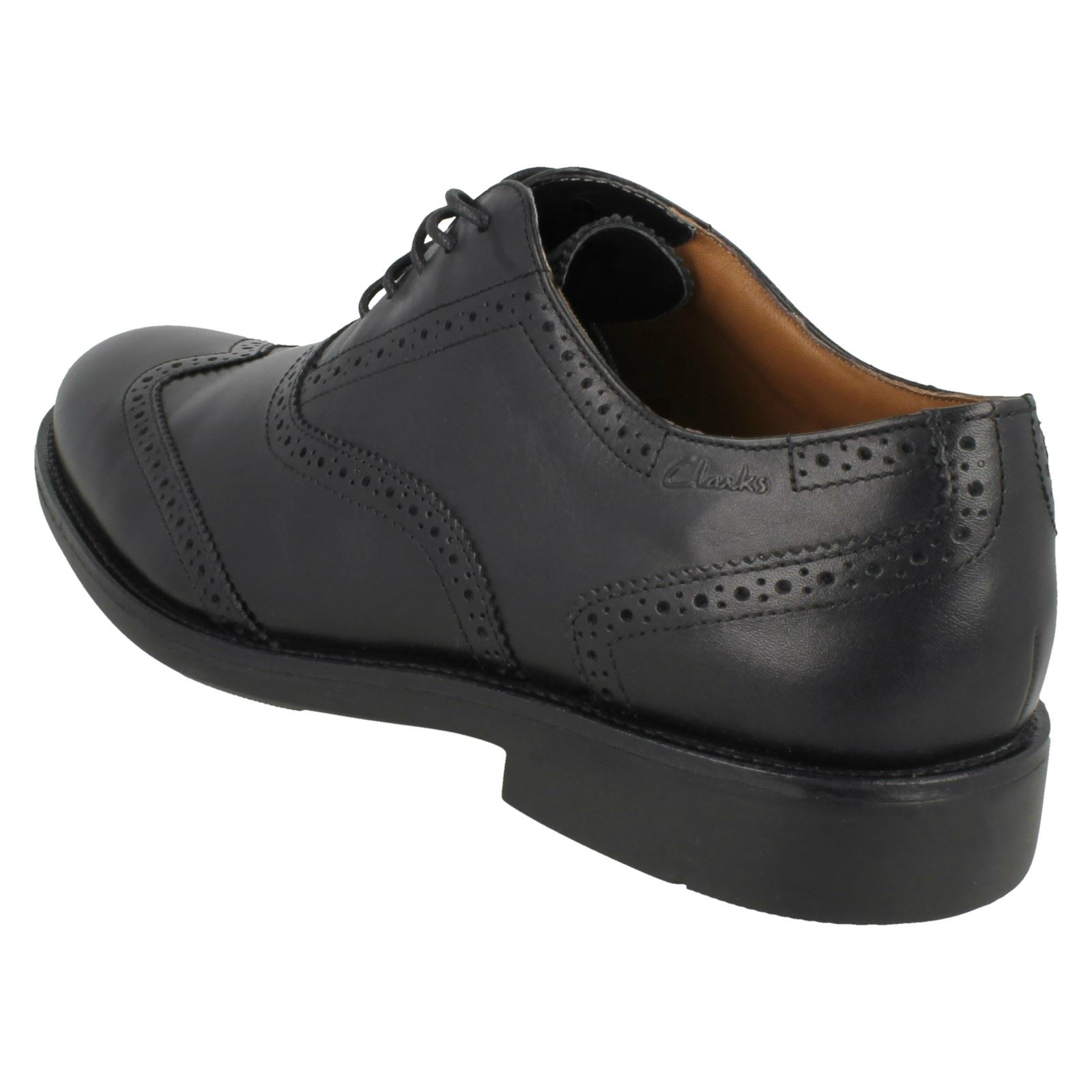 Uomo Schuhes Clarks Lace Up Brogue Schuhes Uomo - Dresslite City fb73b2