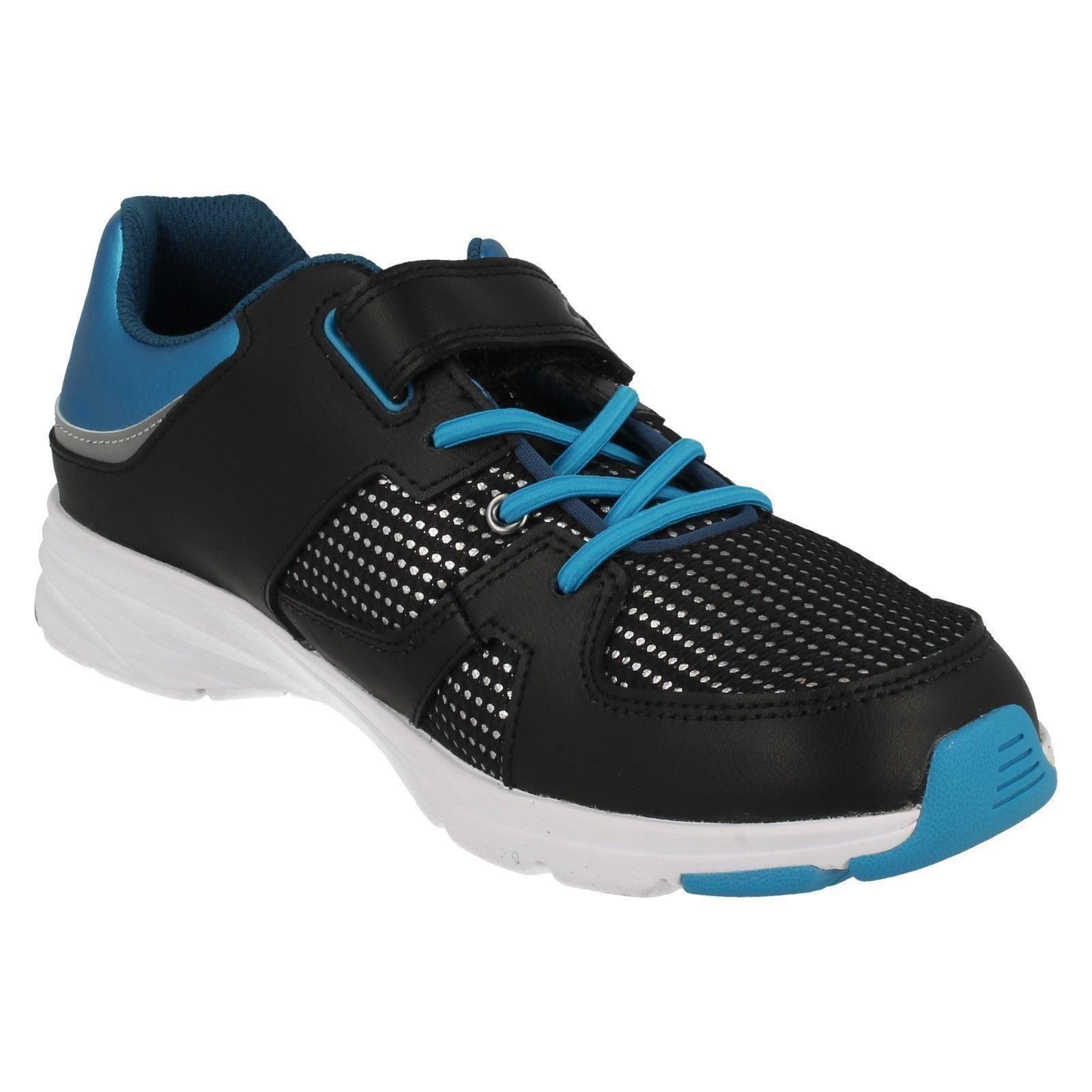 el Zapatillas espía para deportivas azul reflejan Gloforms niños Clarks xYwrBqRnY