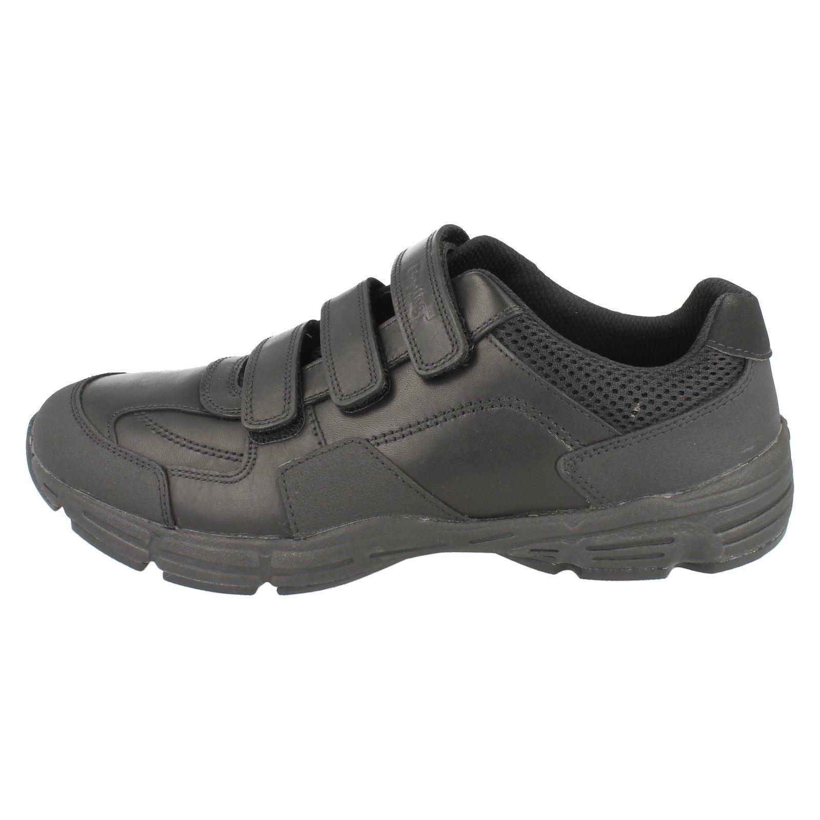 para Humber Zapatillas Air niños escolares Clarks negras q8BOT