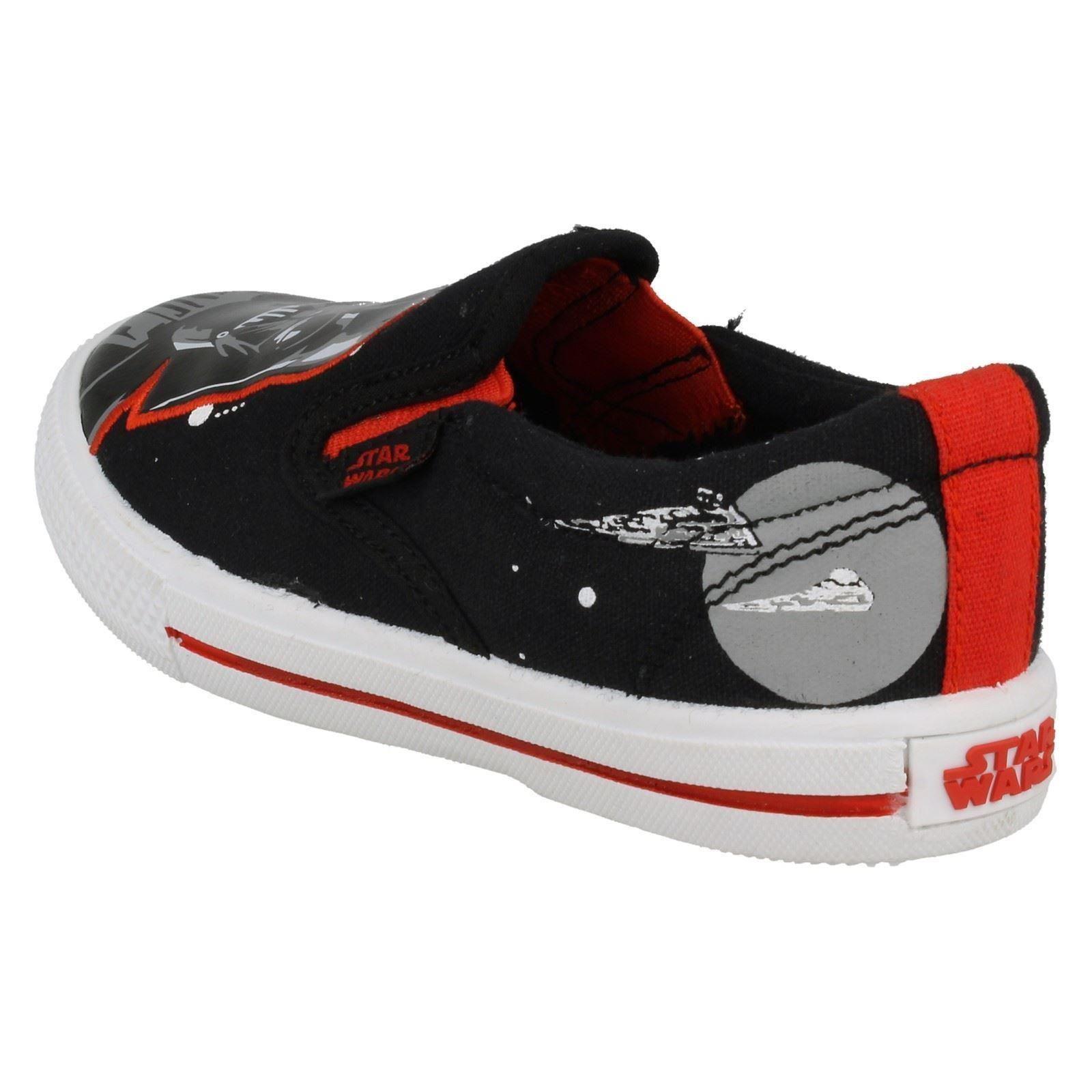 Chicos STAR WARS 'Earl' resbalón en el zapato de lona
