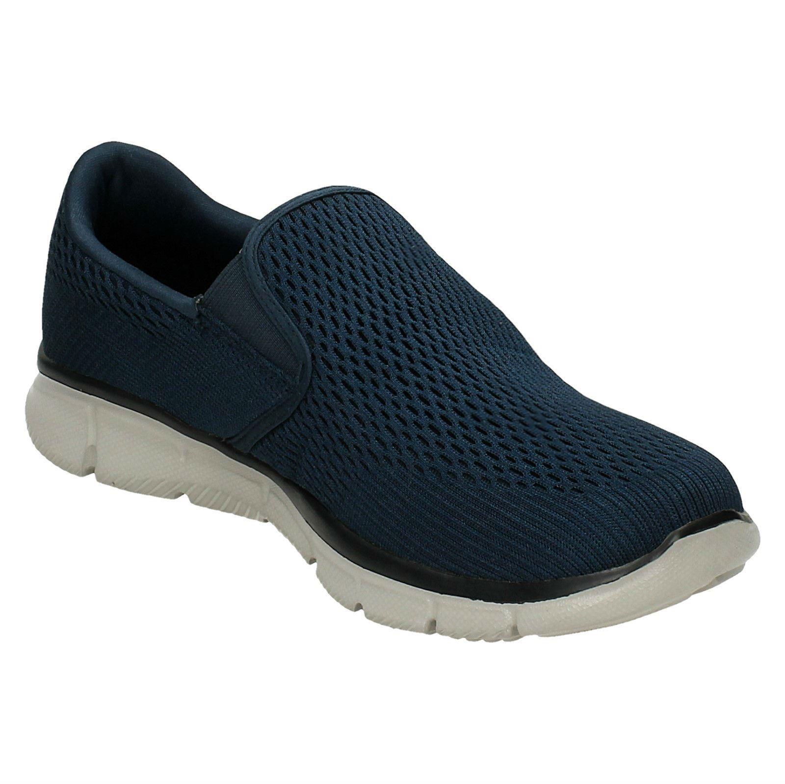 Mens Skechers Memory Foam Walking Shoes Double Play 51509