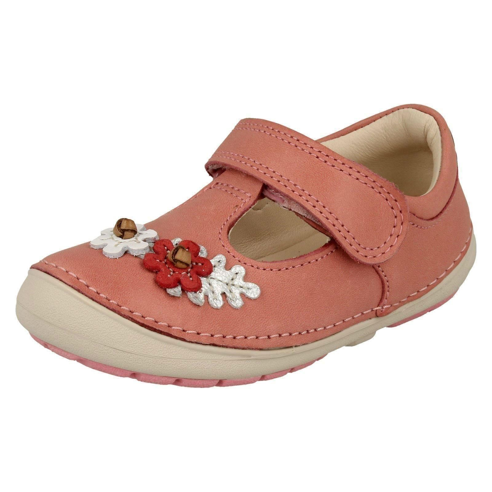 Clarks Girls First Walking Shoes Softly Blossom