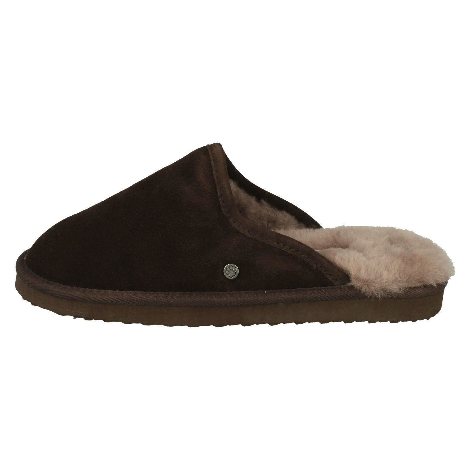 Lined Uomo Padders Genuine Lined  Sheepskin Mule Slippers Nevis 78403c