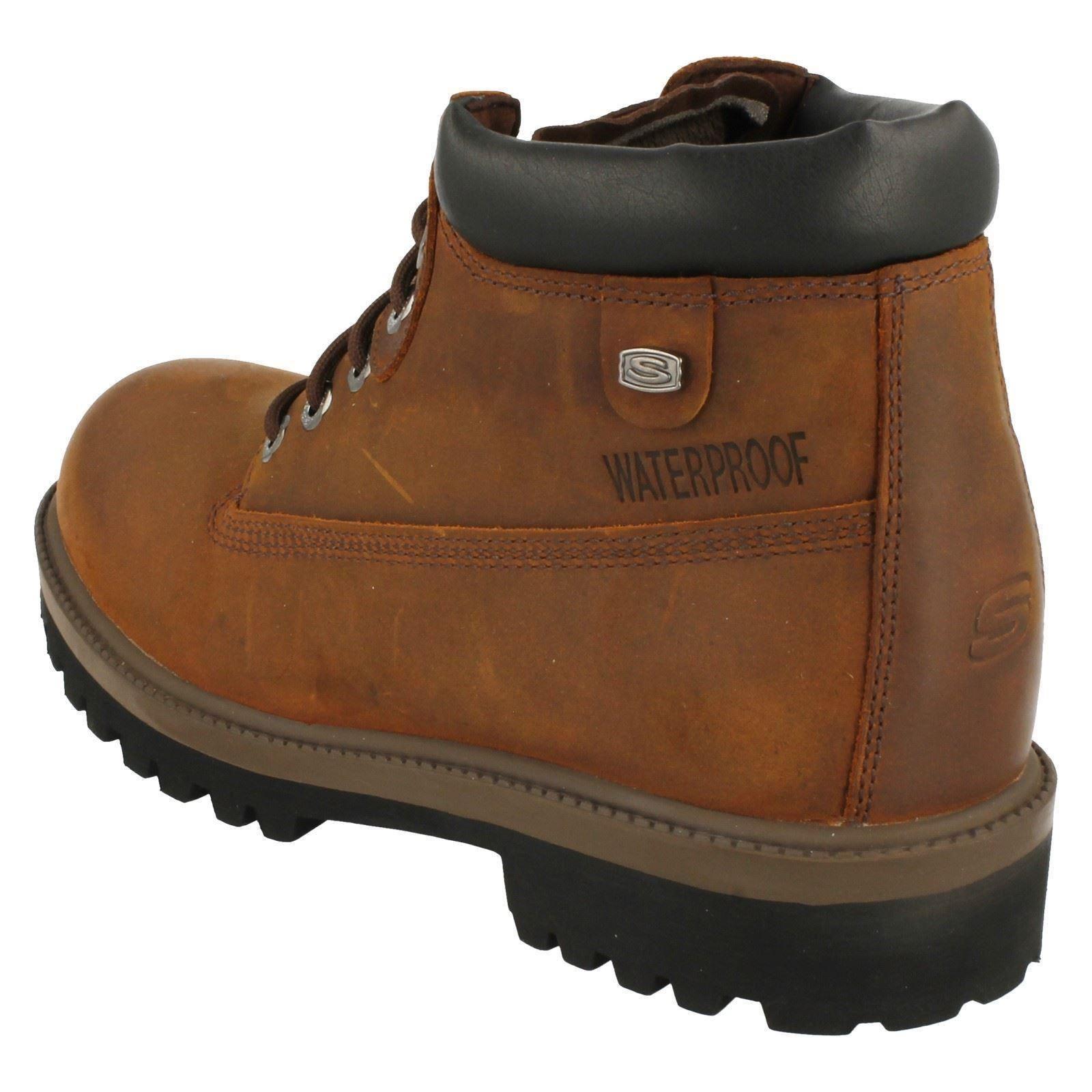 Mens Sketchers Waterproof Up Lace Up Waterproof Boots Verdict 89cf29