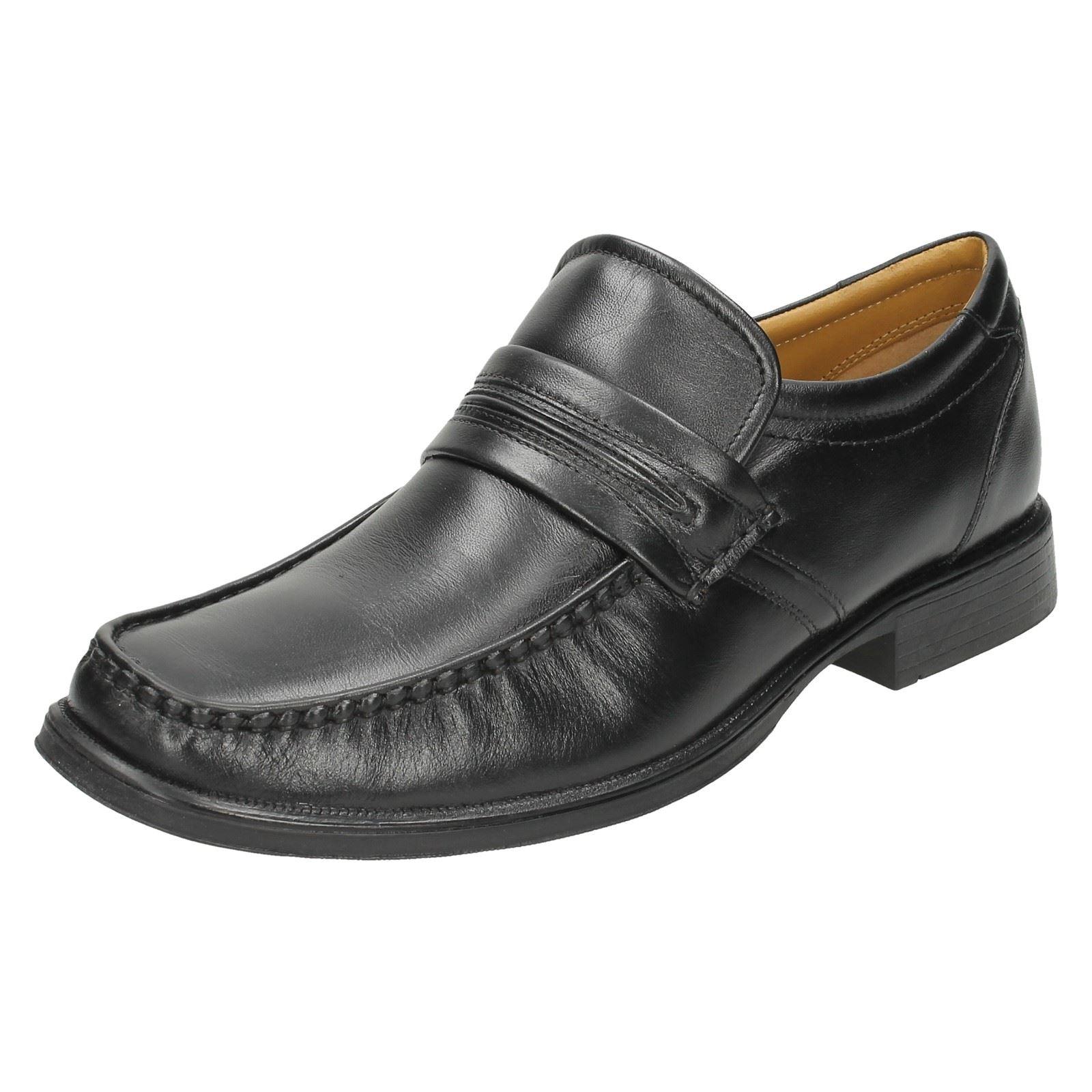 Clarks  Uomo Formal Work Slip On Schuhes Handle Work Formal 69add2