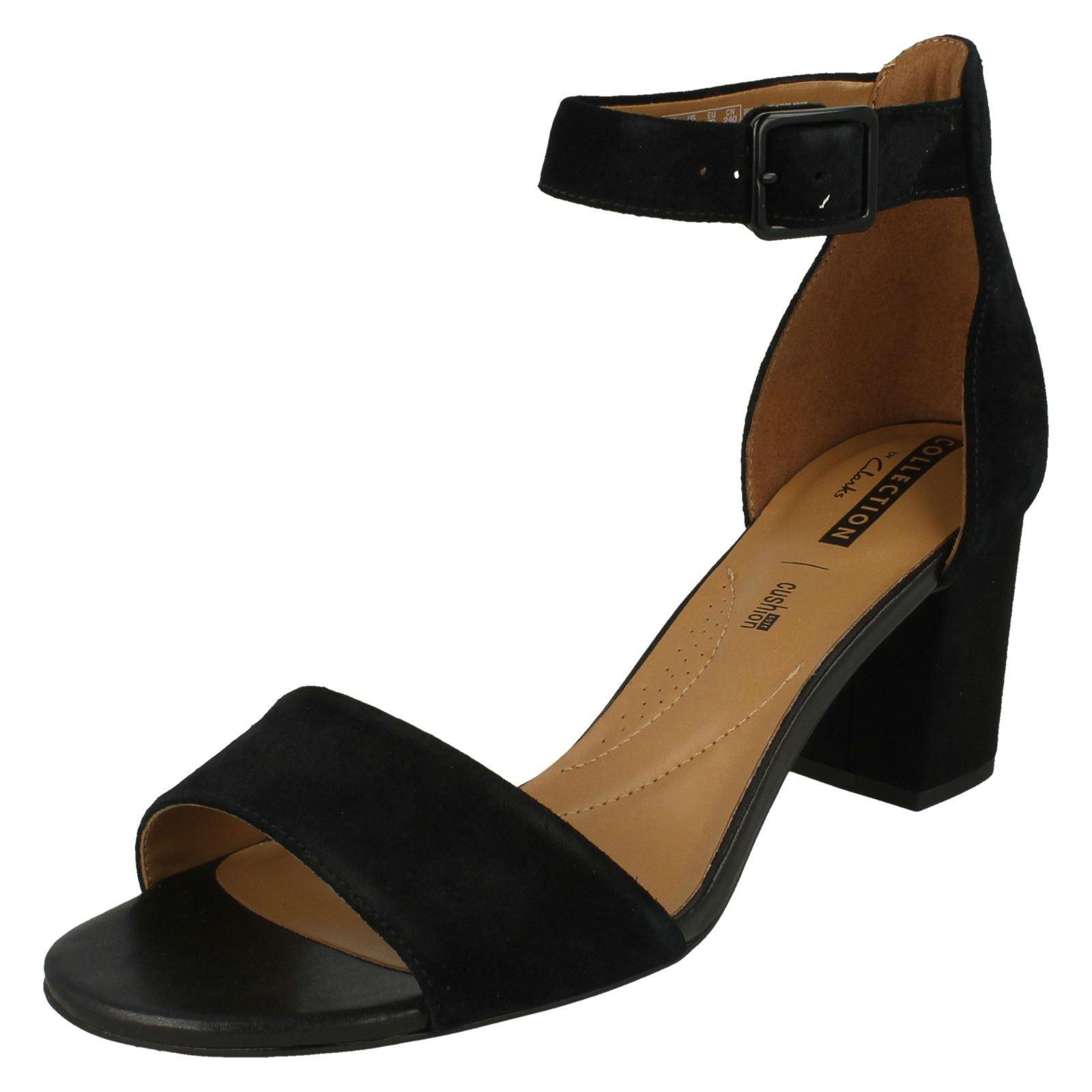 Ladies Clarks Heeled Sandals - Deva Mae  80af9774e6