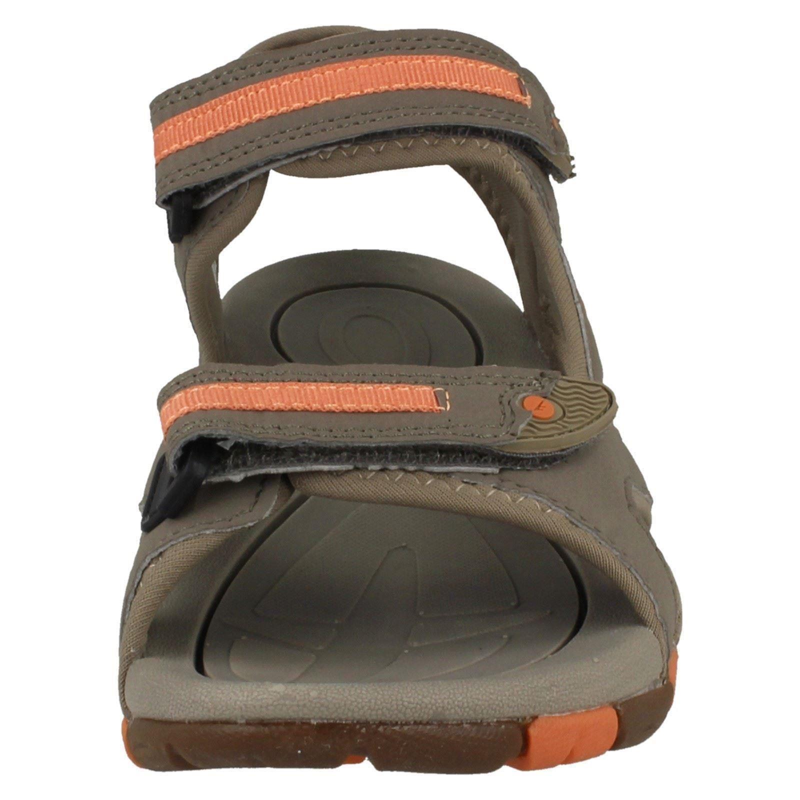 Childrens Hi-Tec Casual Hook And Loop Sandals - GT Strap