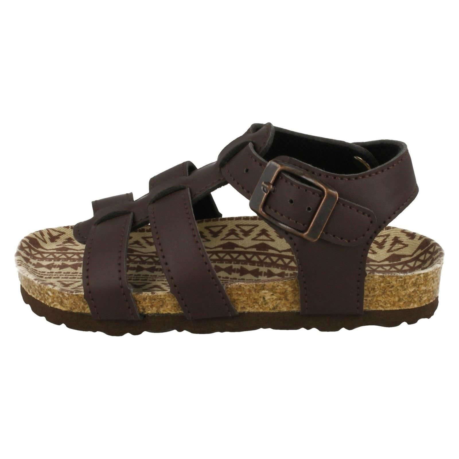 Boys Spot On Flat Strappy Sandals N0035   eBay