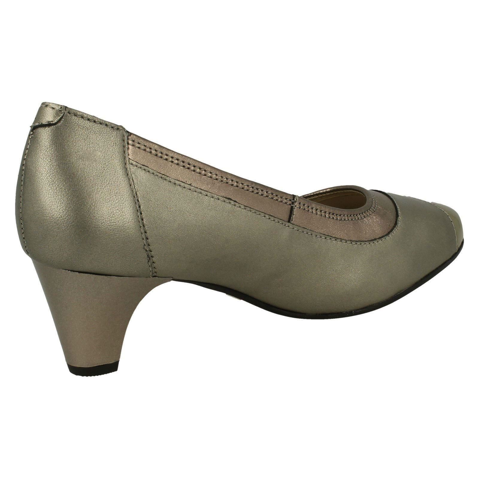Padders Ladies Elegant Elegant Elegant Court shoes - Jewel 854b36