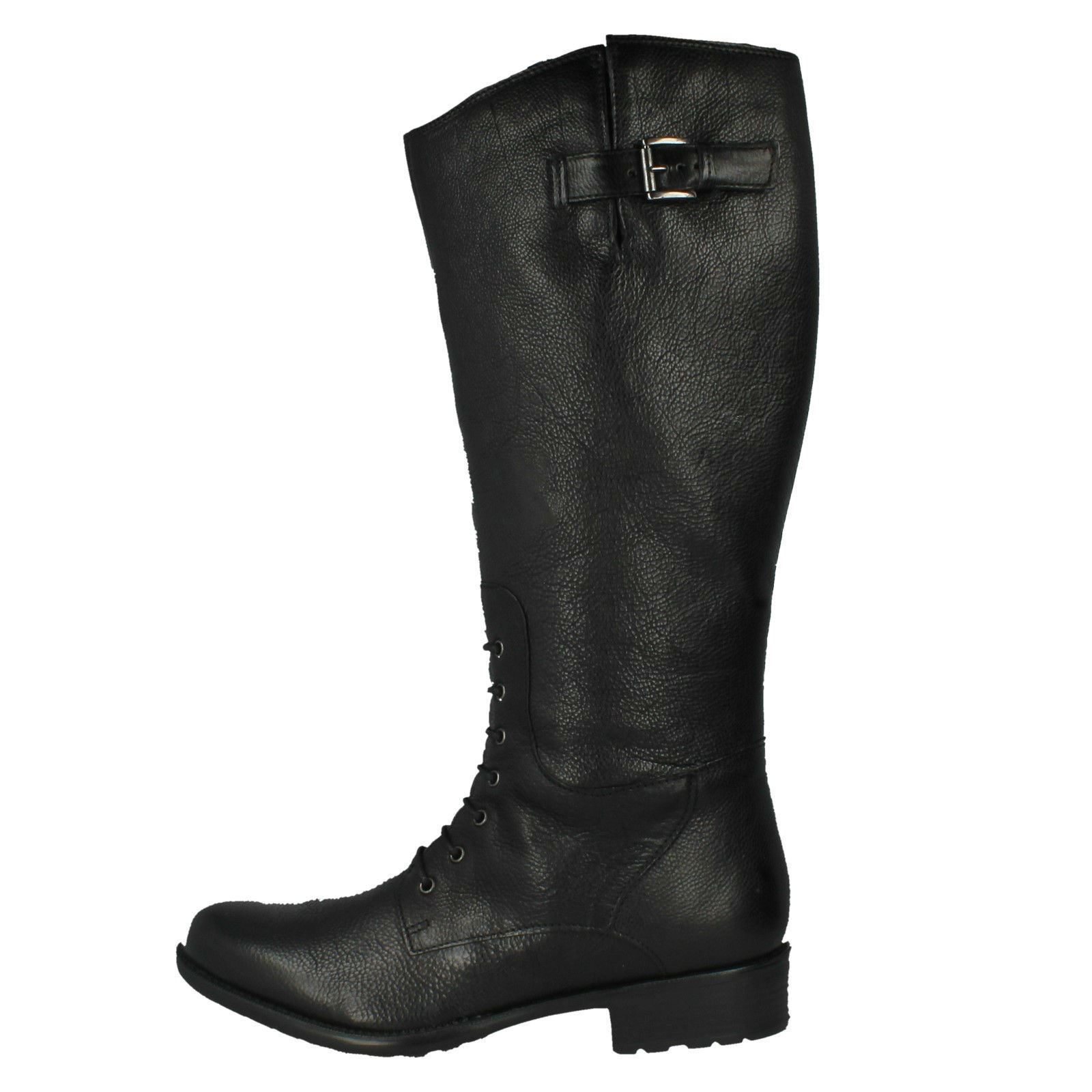 Up Length Knee Zip Boots Black Ladies Clarks Mullin Clove pqEwO4BP